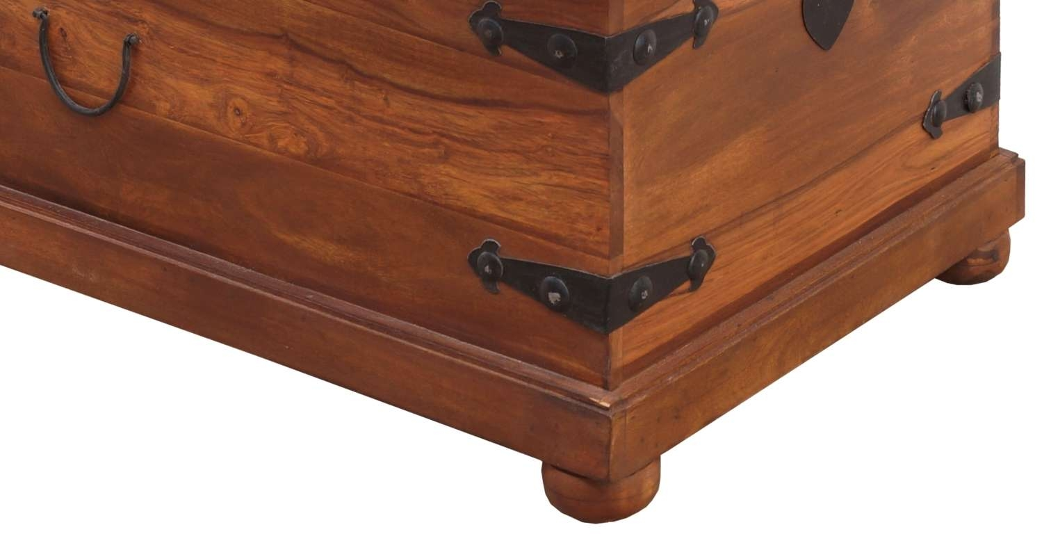 Latest Coffee Tables With Box Storage Throughout Thakat Storage Box Cum Coffee Table – Umaid Craftorium (View 7 of 20)