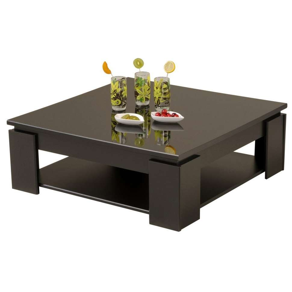 Latest Coffee Tables With Magazine Storage Pertaining To Coffee Tables : Minimalist Low Coffee Tables Square Short (View 9 of 20)