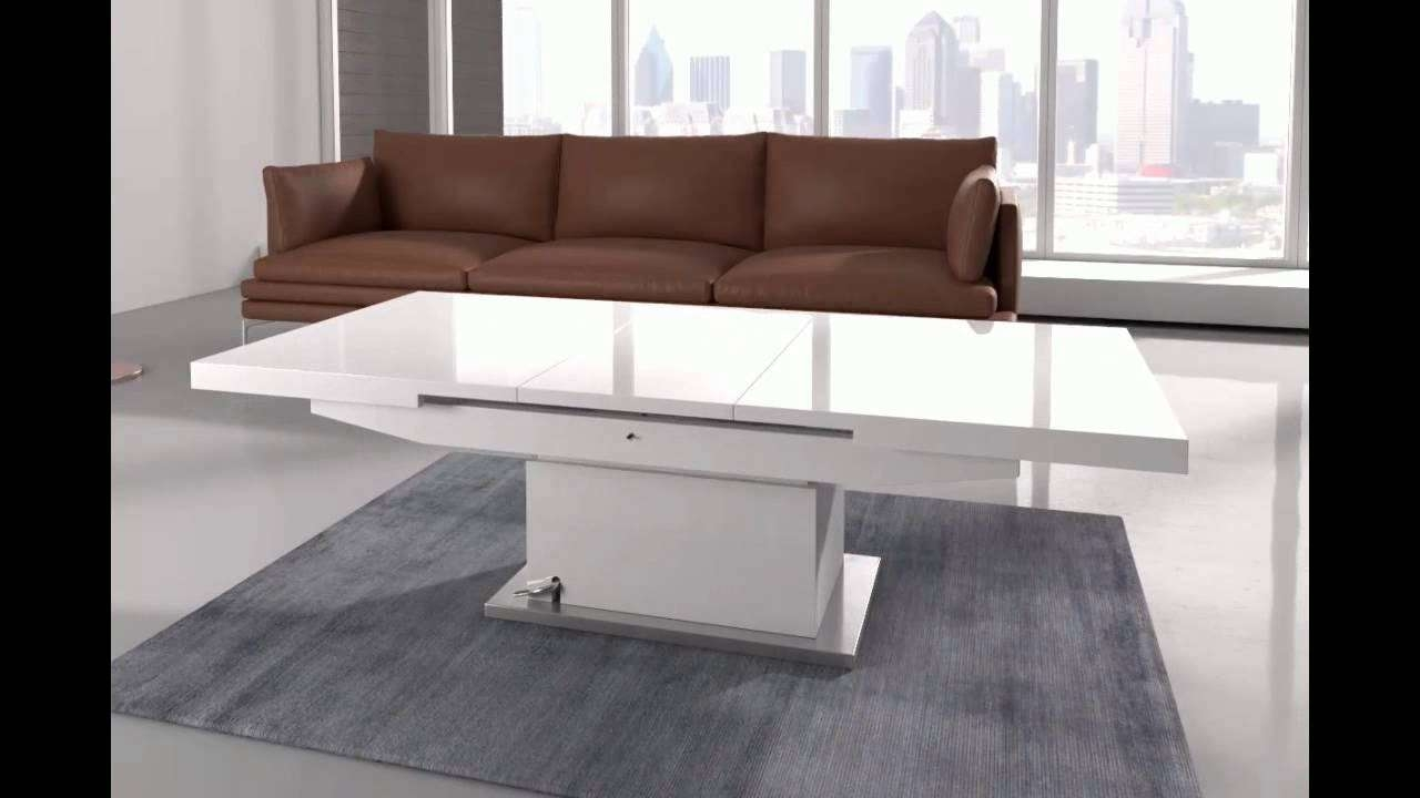 Latest Dining Coffee Tables Pertaining To Elgin Coffee Table That Also Converts To A Dining Table In W – Youtube (View 11 of 20)