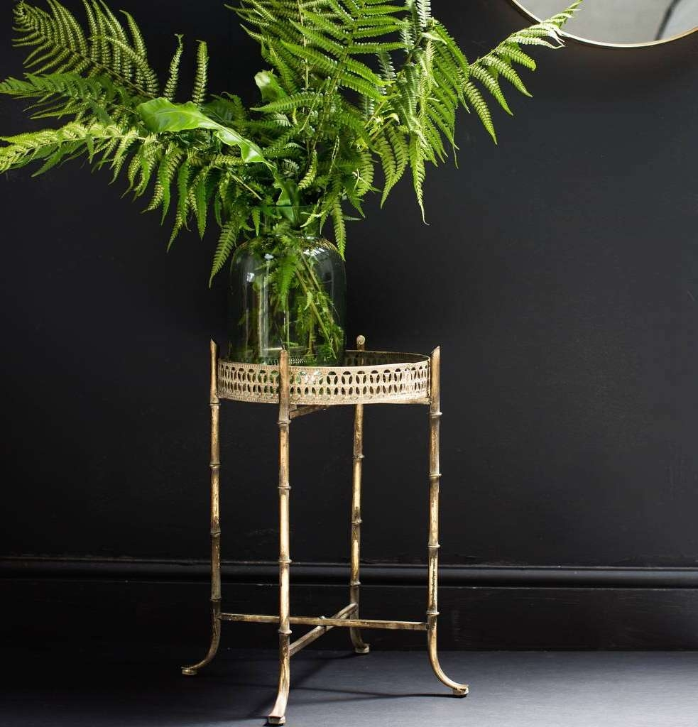 Latest Gold Bamboo Coffee Tables Within Side Tables (View 18 of 20)