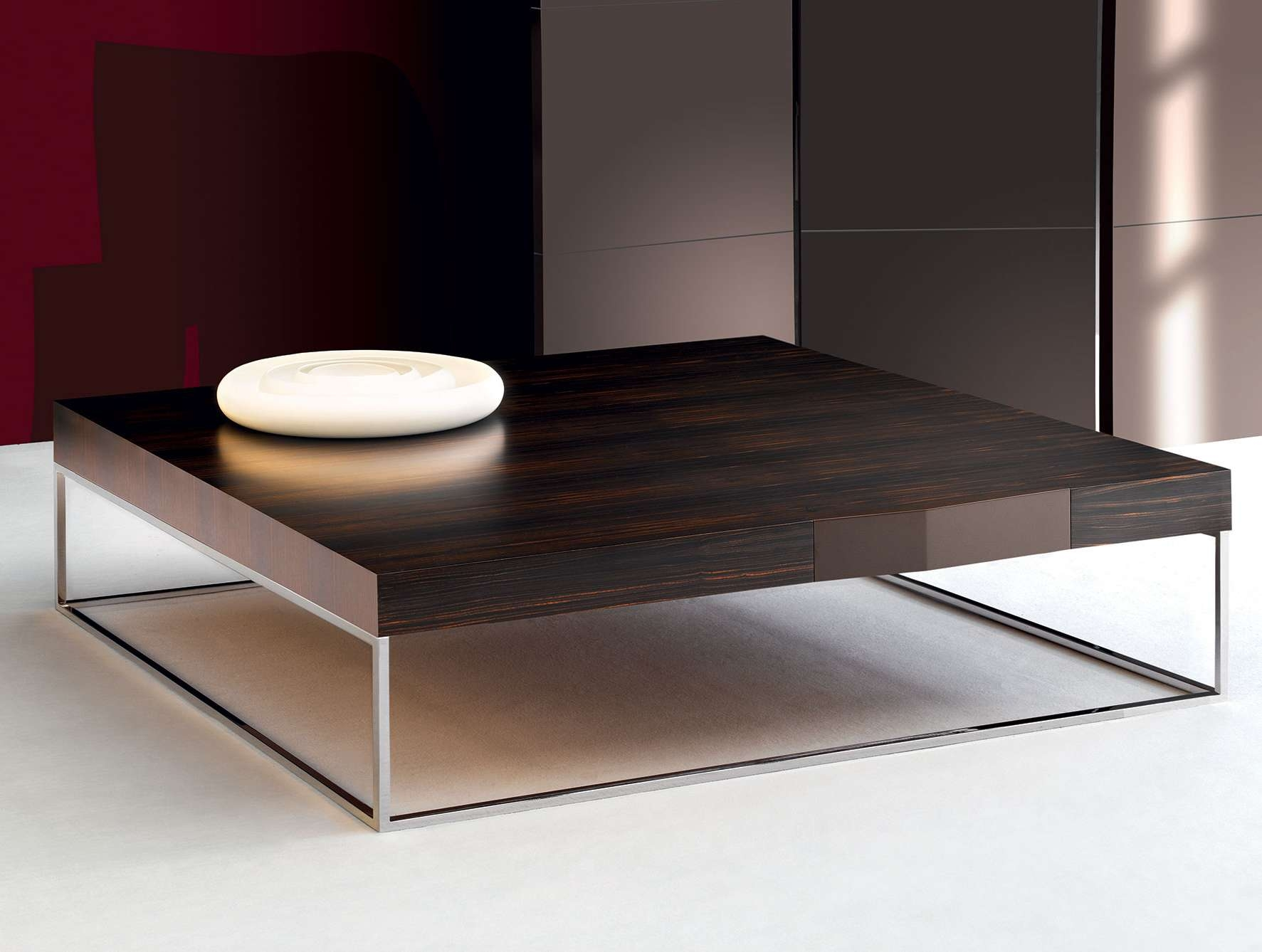 Latest Italian Coffee Tables Within Nella Vetrina Dona Play L75 Modern Italian Designer Ebony Coffee Table (View 2 of 20)