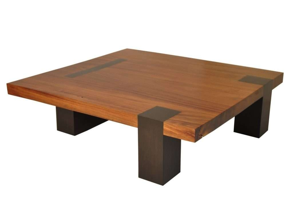 Latest Large Low Wood Coffee Tables With Large Wood Coffee Table Large Wood Coffee Table Square / Coffee (View 10 of 20)