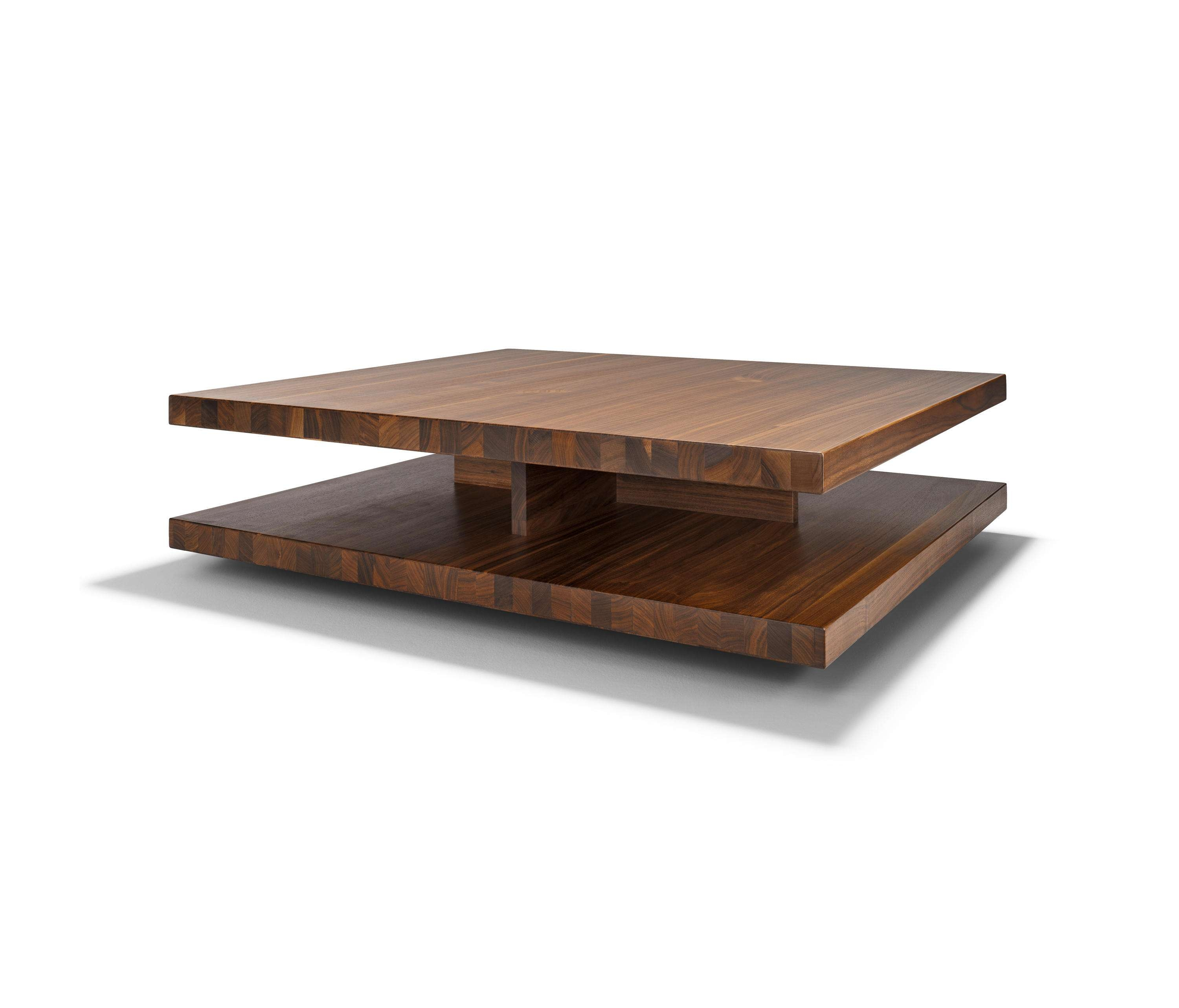 Latest Large Low Wooden Coffee Tables Throughout C3 Coffee Table – Lounge Tables From Team (View 18 of 20)