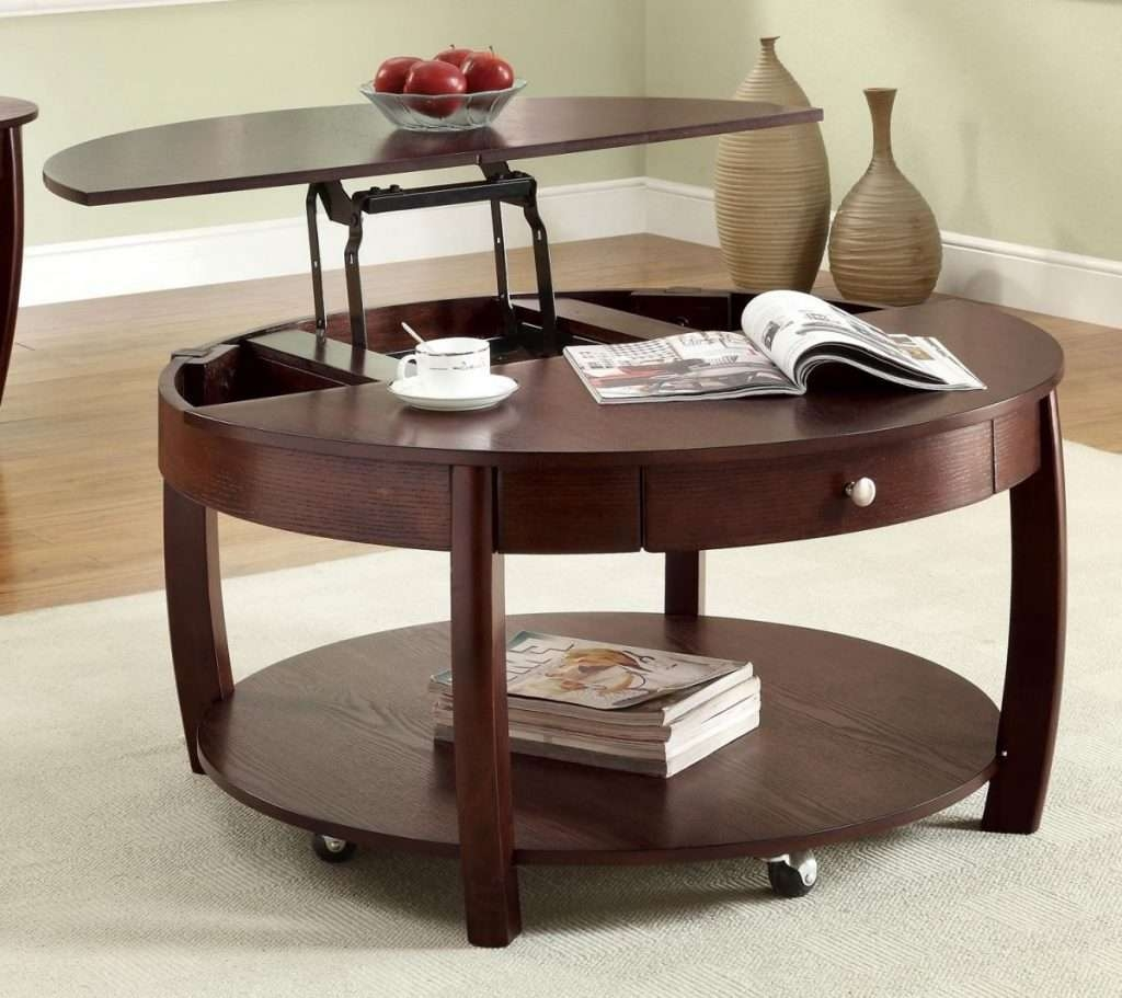 Latest Lift Up Coffee Tables With Coffee Tables : White Gloss Lift Up Coffee Table Storage Ottoman (View 5 of 20)