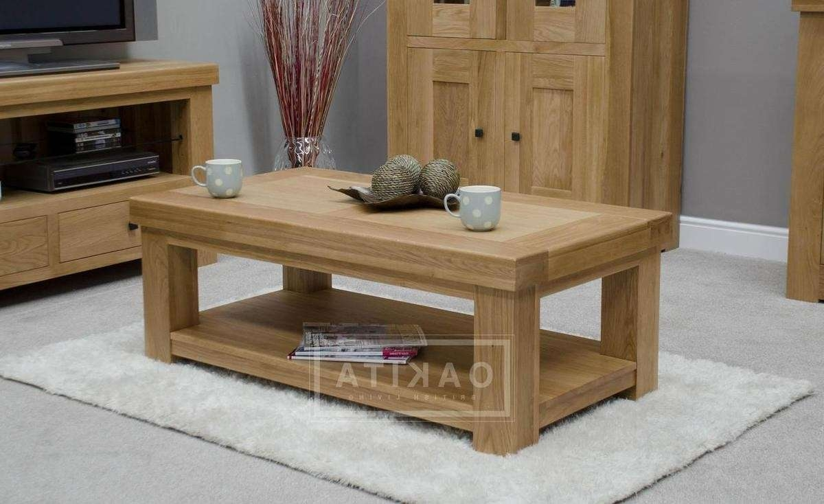 Latest Light Oak Coffee Tables Throughout Important Facts That You Should Know About Light Oak Coffee Table (View 2 of 20)