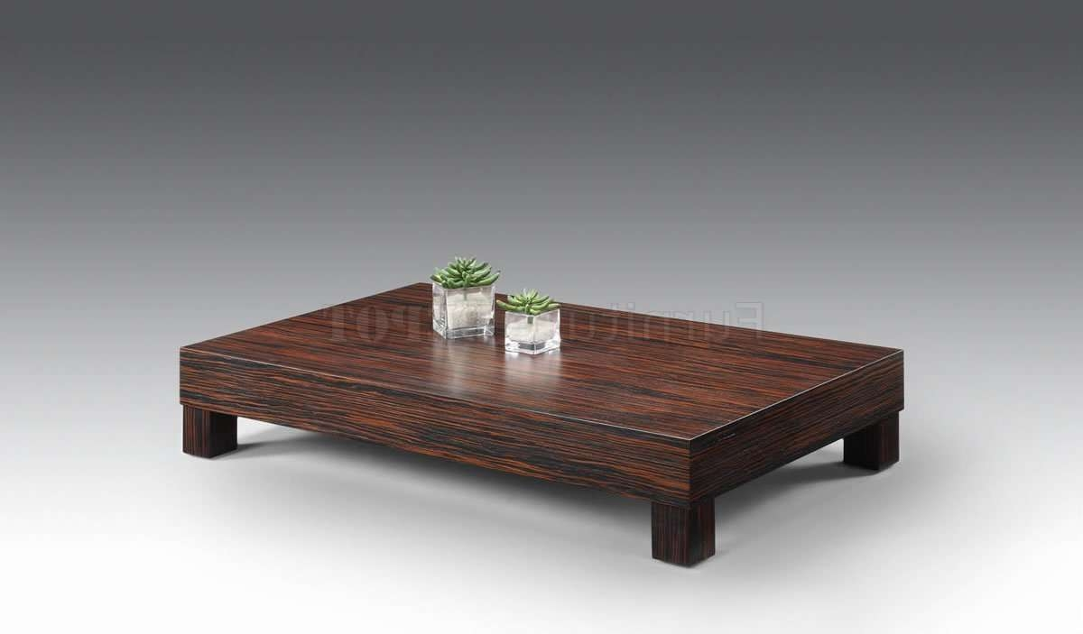 Latest Low Coffee Tables Pertaining To Low Coffee Tables For Modern And Contemporary Interior Design (View 6 of 20)