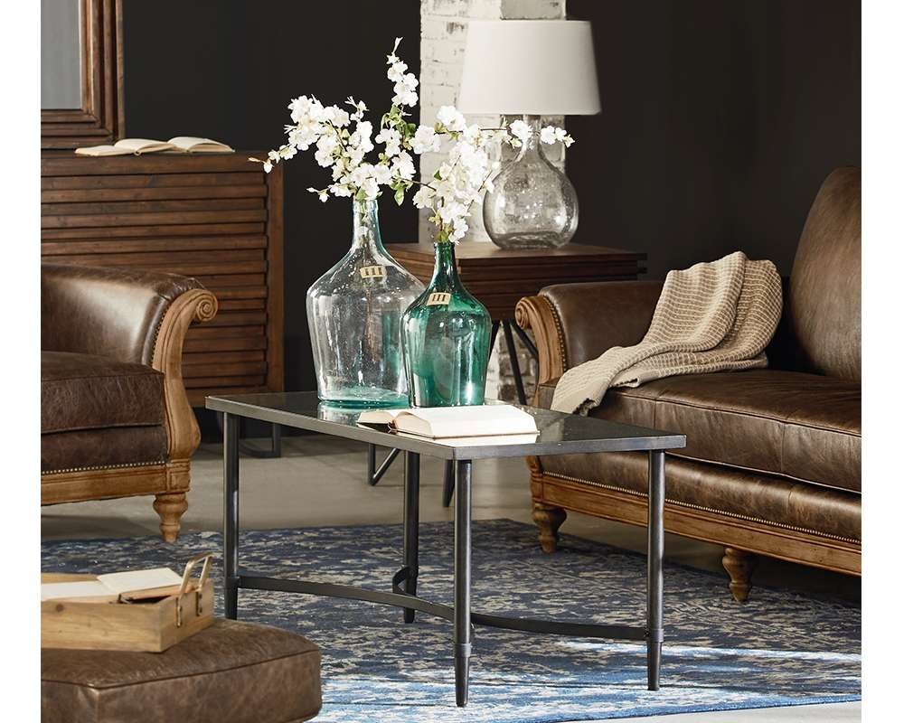 Latest Mercury Glass Coffee Tables Within Mercury Glass Coffee Table – Magnolia Home (View 4 of 20)