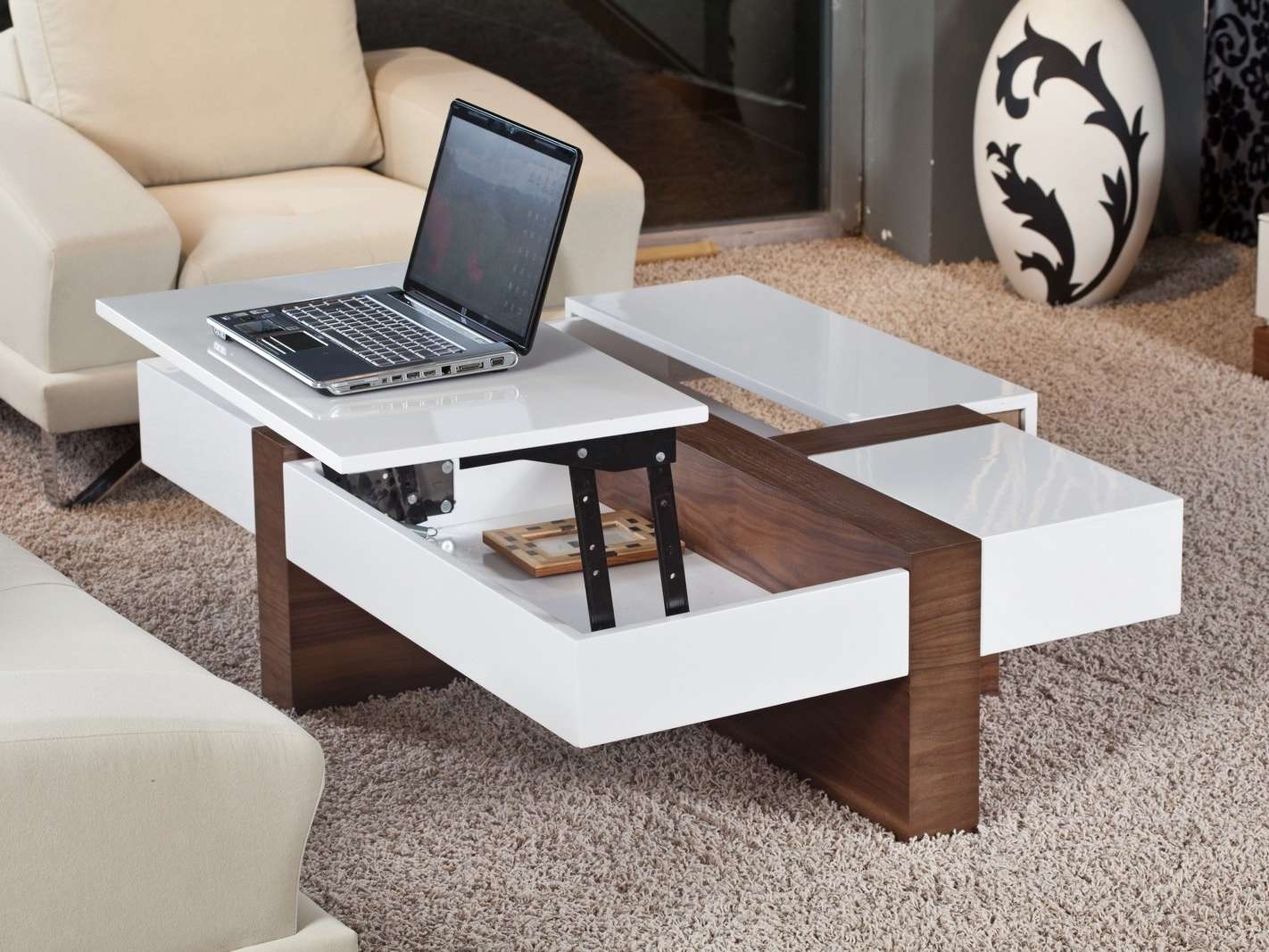 Latest Pop Up Top Coffee Tables Intended For Convertible Coffee Tables For Idea Design Your Room – Convertible (View 2 of 20)
