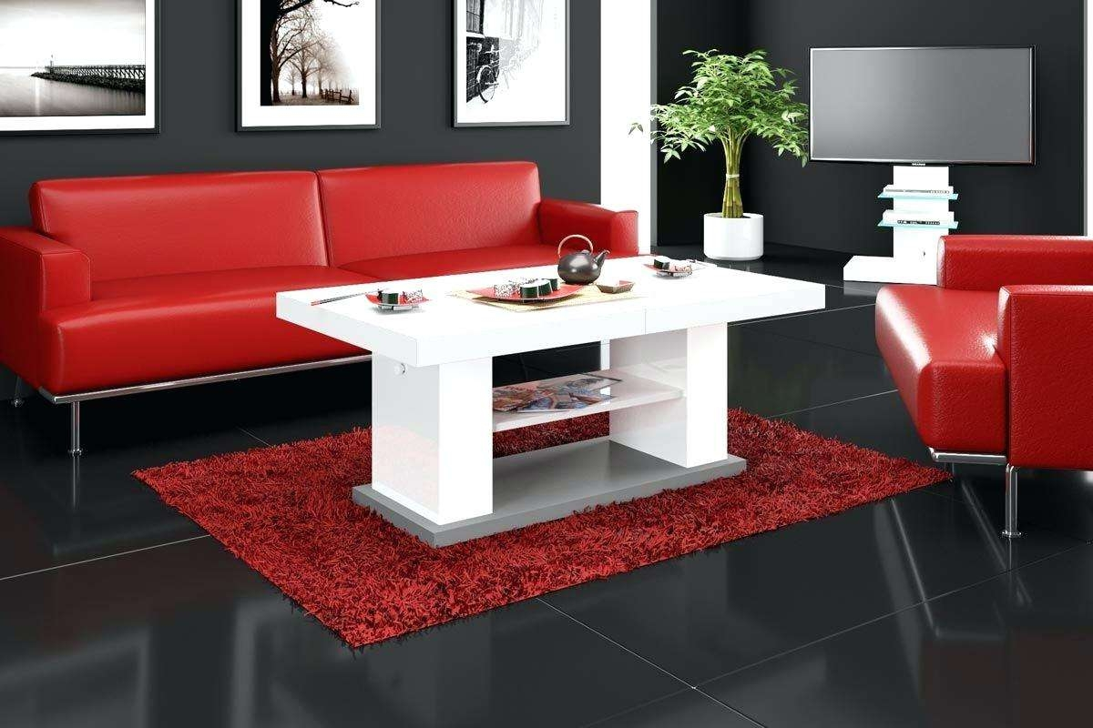 Latest Red Gloss Coffee Tables In Articles With Verona Red Gloss Coffee Table Tag: Glossy Coffee (View 13 of 20)