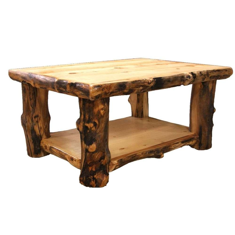 Latest Rustic Looking Coffee Tables Throughout Coffee Table Stool, Rustic Looking Coffee Tables Rustic Log Coffee (View 6 of 20)