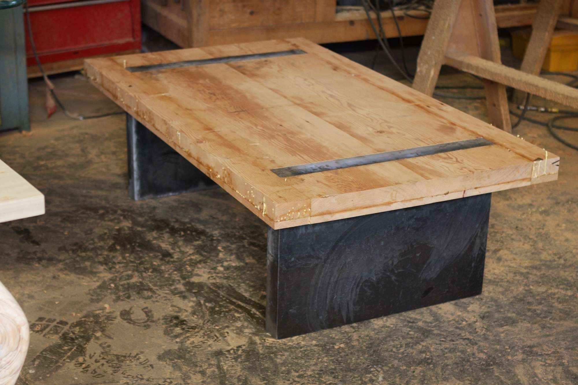 Latest Rustic Style Coffee Tables With Regard To Table : Modern Rustic Coffee Table Farmhouse Compact Modern Rustic (View 9 of 20)