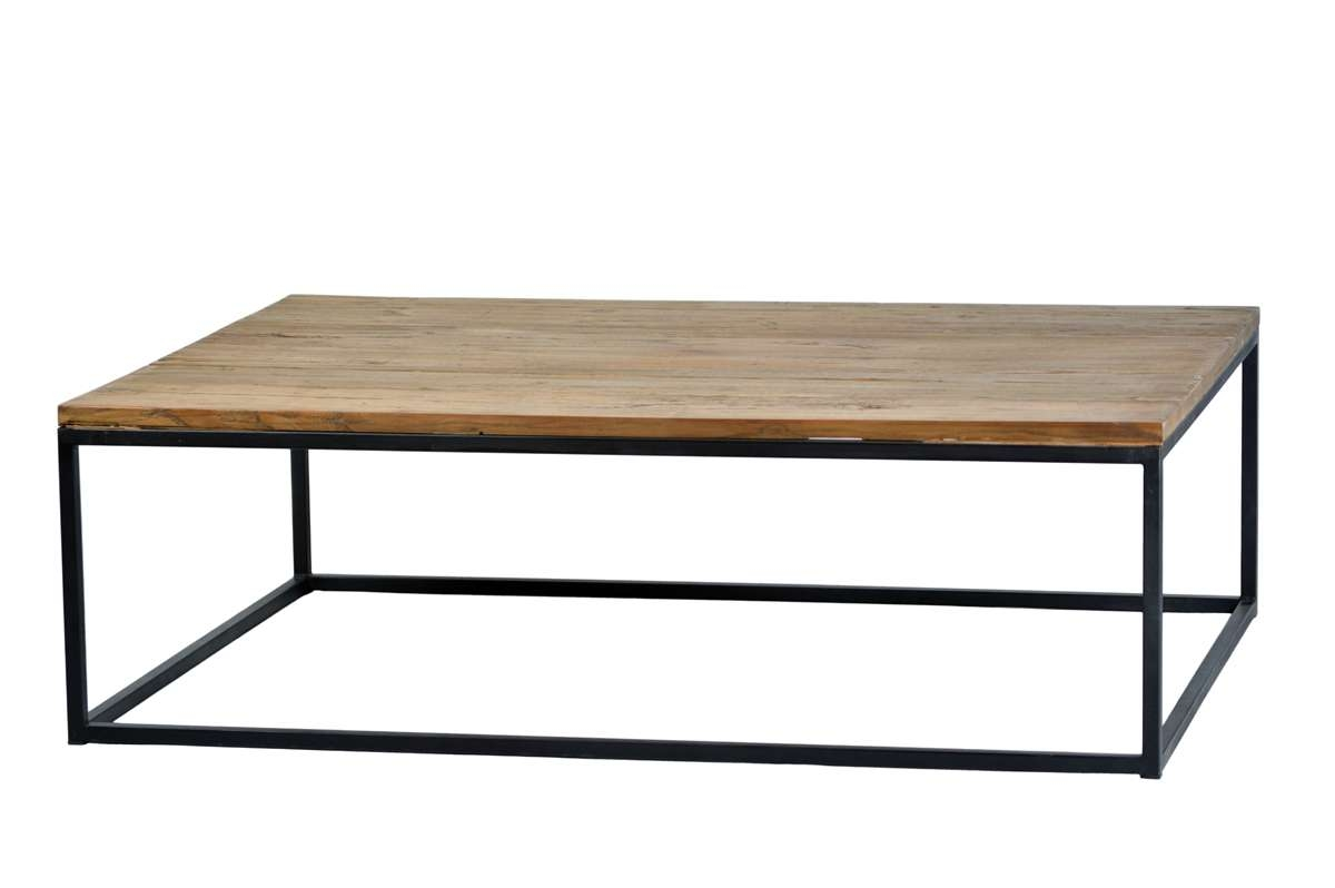 Latest Steel And Wood Coffee Tables Inside Metal And Wood Coffee Table Diy – Coffee Tables And End Tables (View 2 of 20)