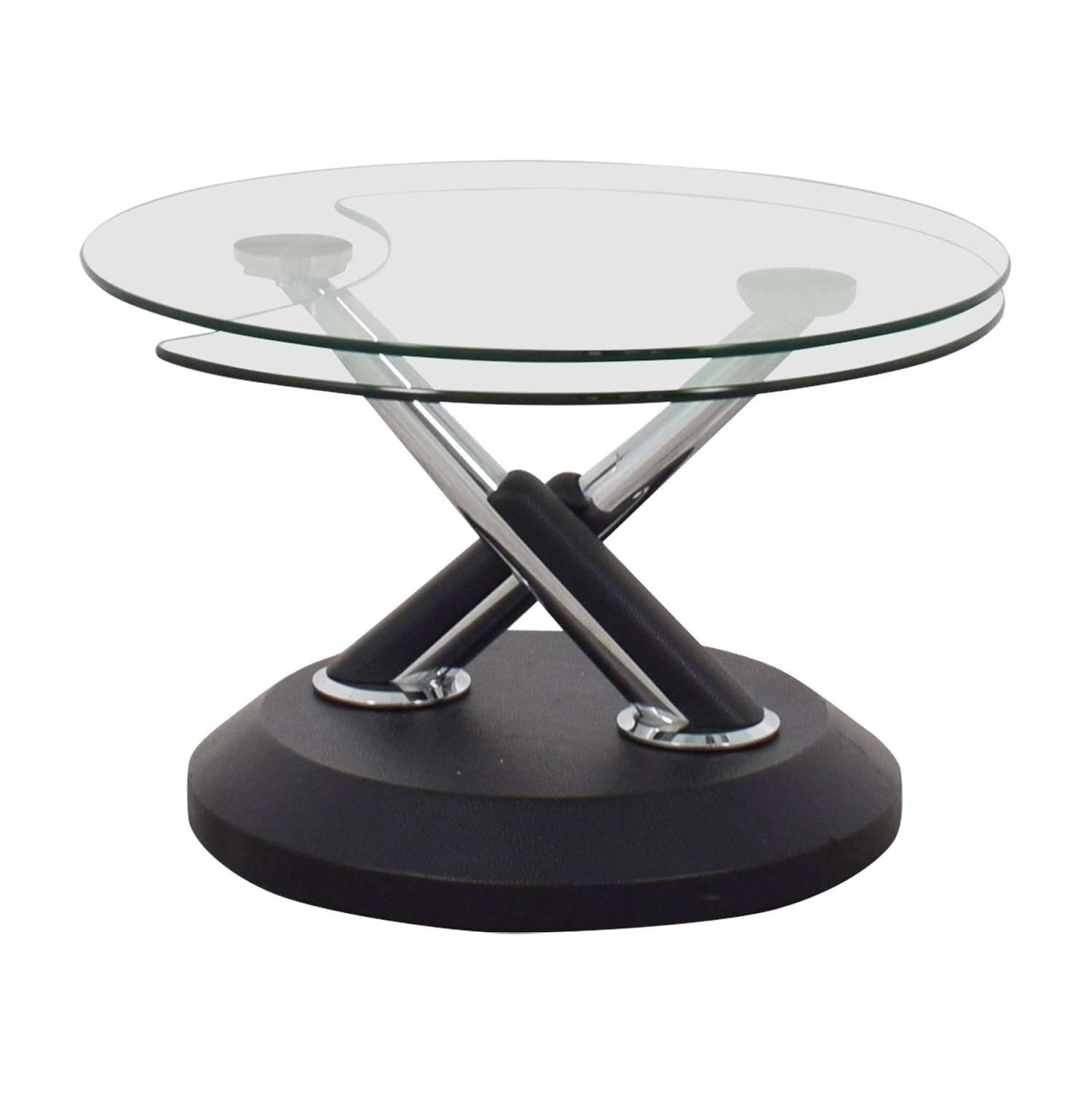 [%Latest Swivel Coffee Tables For 80% Off – West Elm West Elm Glass Swivel Coffee Table / Tables|80% Off – West Elm West Elm Glass Swivel Coffee Table / Tables Pertaining To Current Swivel Coffee Tables%] (View 1 of 20)