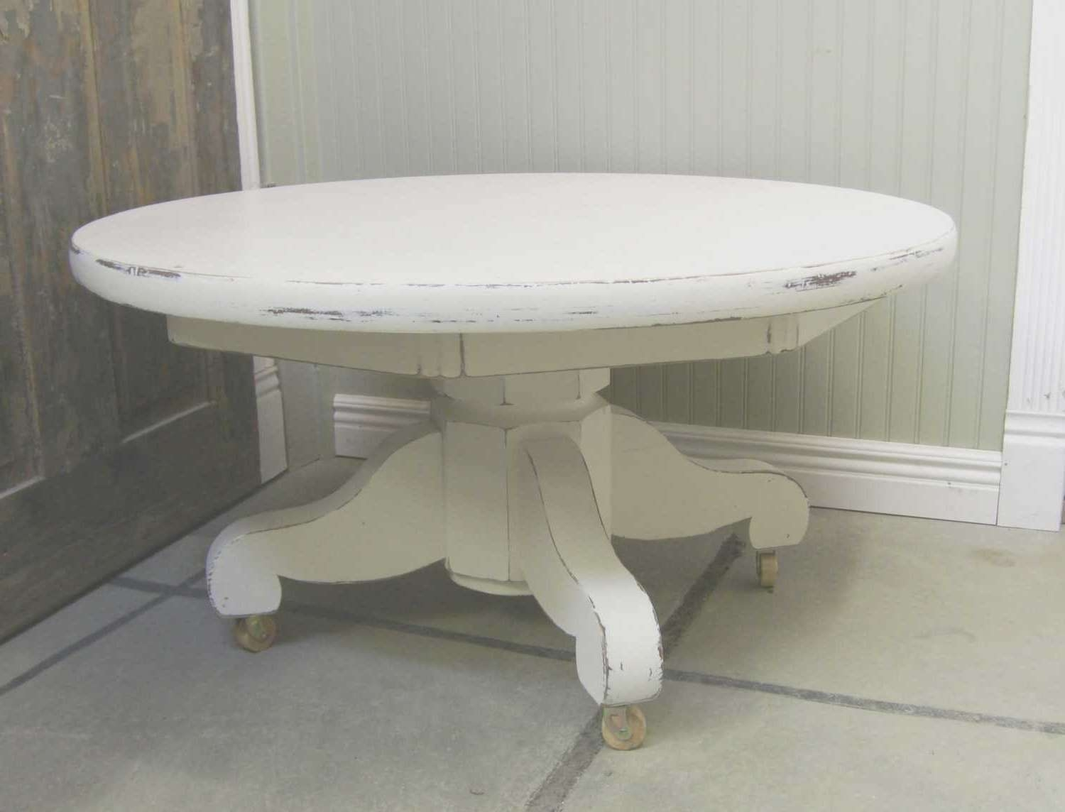 Latest White Circle Coffee Tables Inside Round White Coffee Table – Cintura Round Coffee Table Beyond (View 10 of 20)