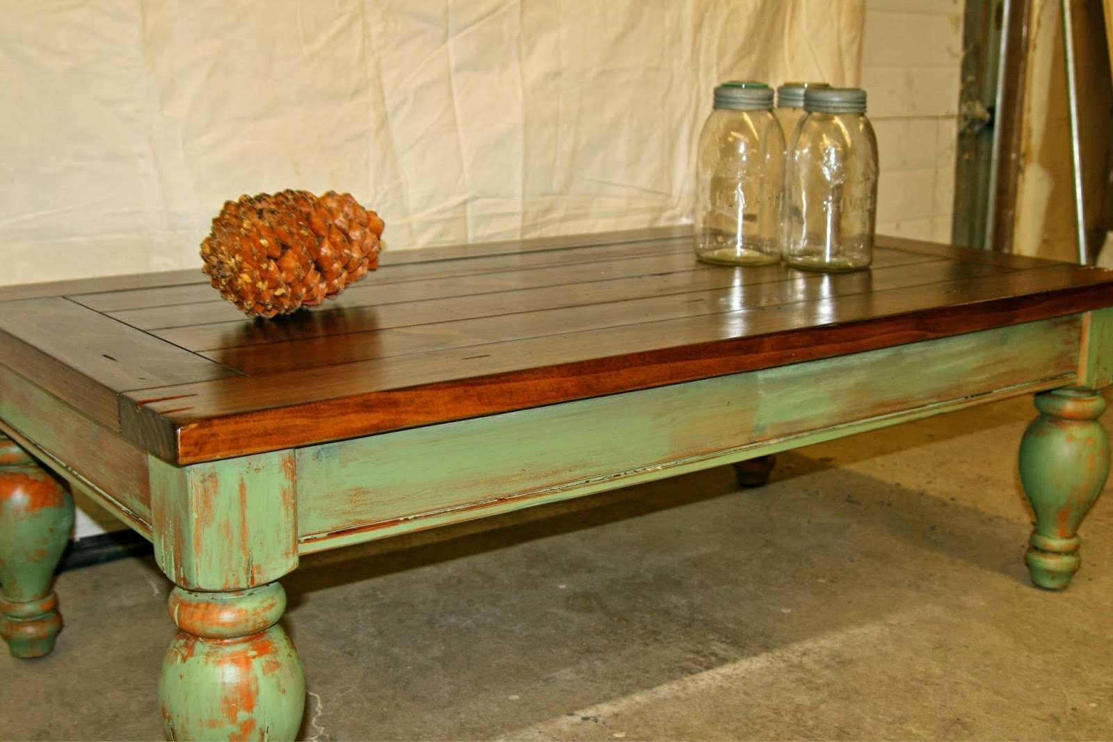 Laurel's Attic : Large Rustic Pine Coffee Table  Sold With Regard To Popular Pine Coffee Tables (View 8 of 20)