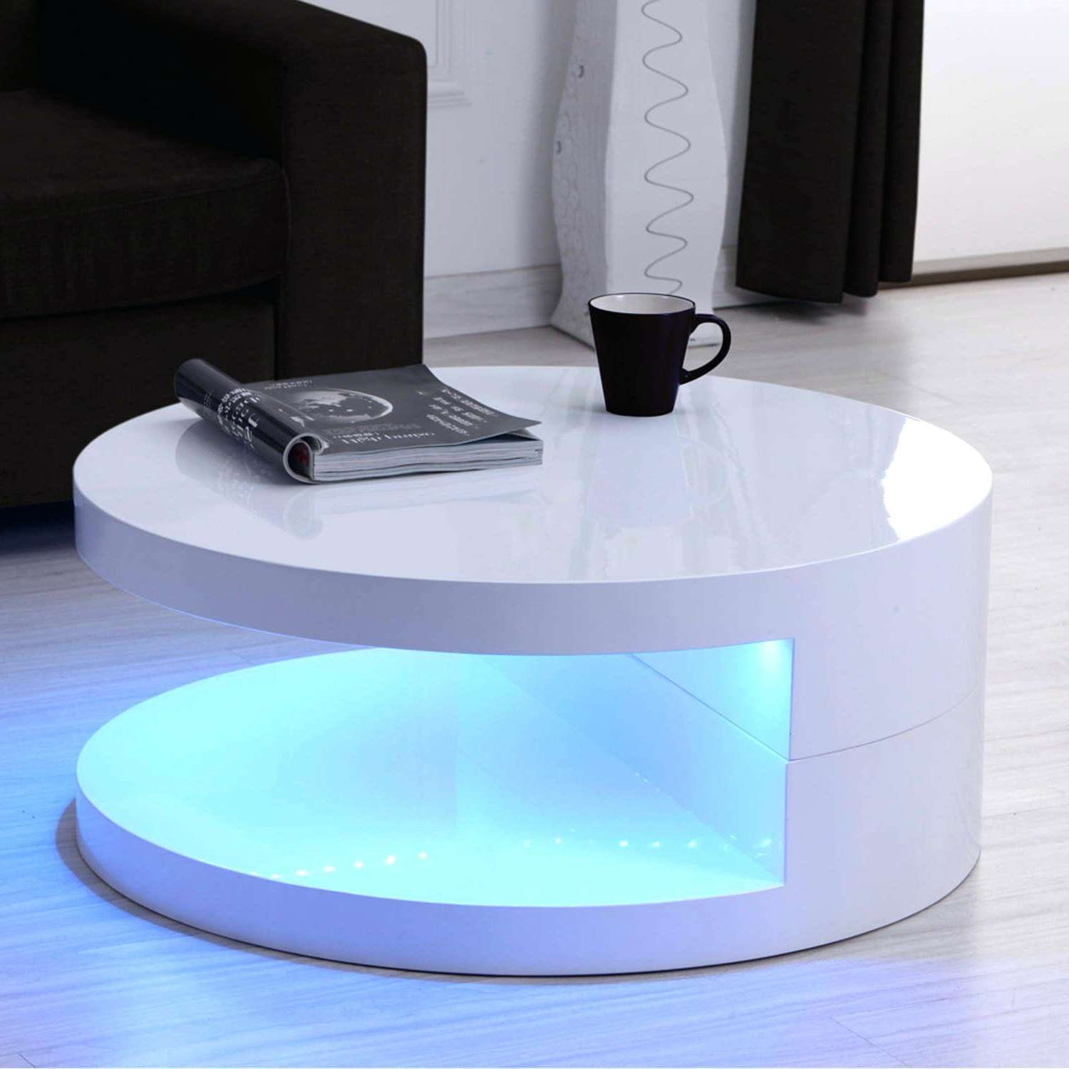 Led Coffee Table – Huttriver Within 2017 Led Coffee Tables (View 8 of 20)
