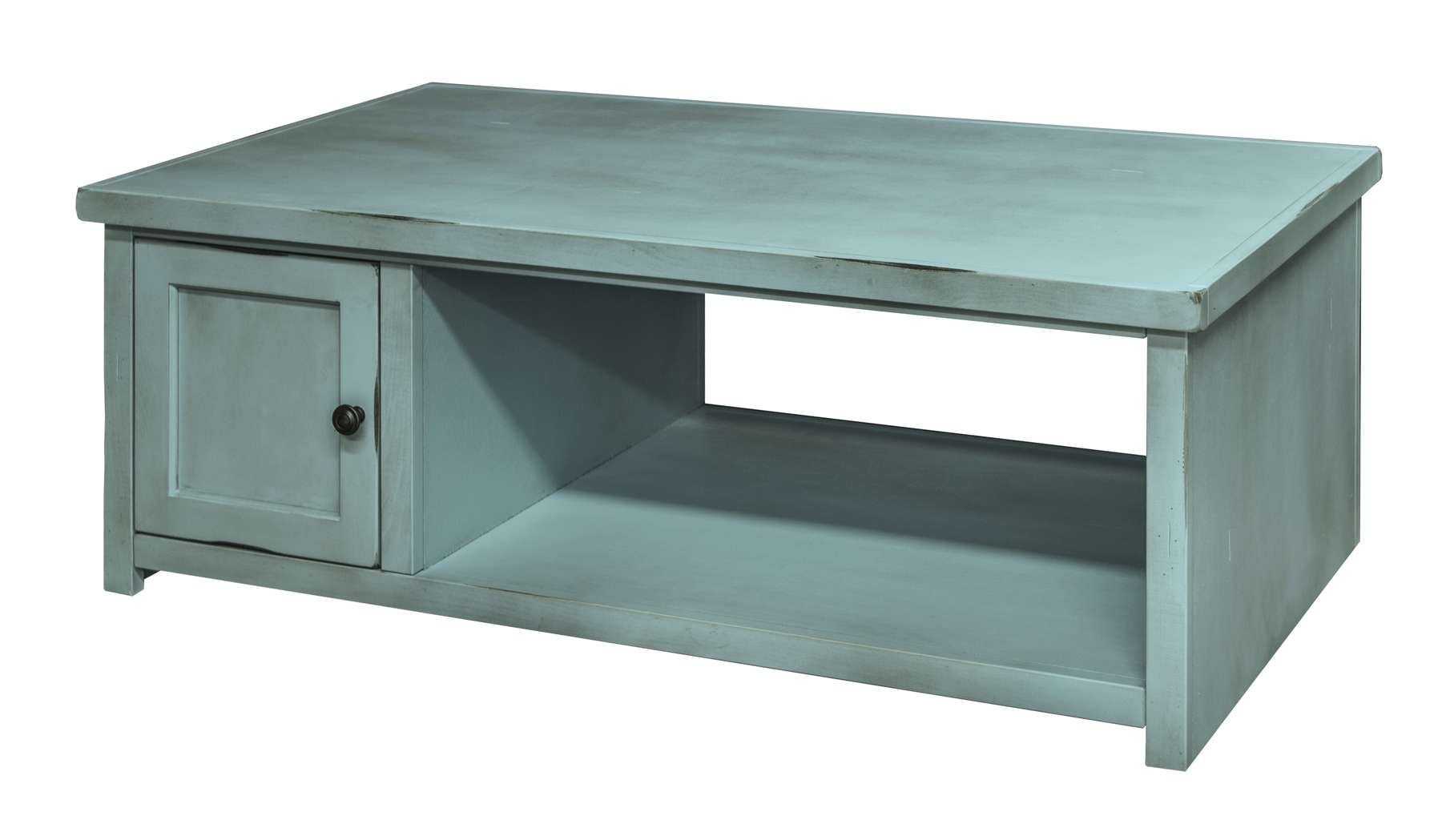 Legends Furniture Ca4220 – Calistoga Collection Blue Coffee Table In Well Known Blue Coffee Tables (View 12 of 20)