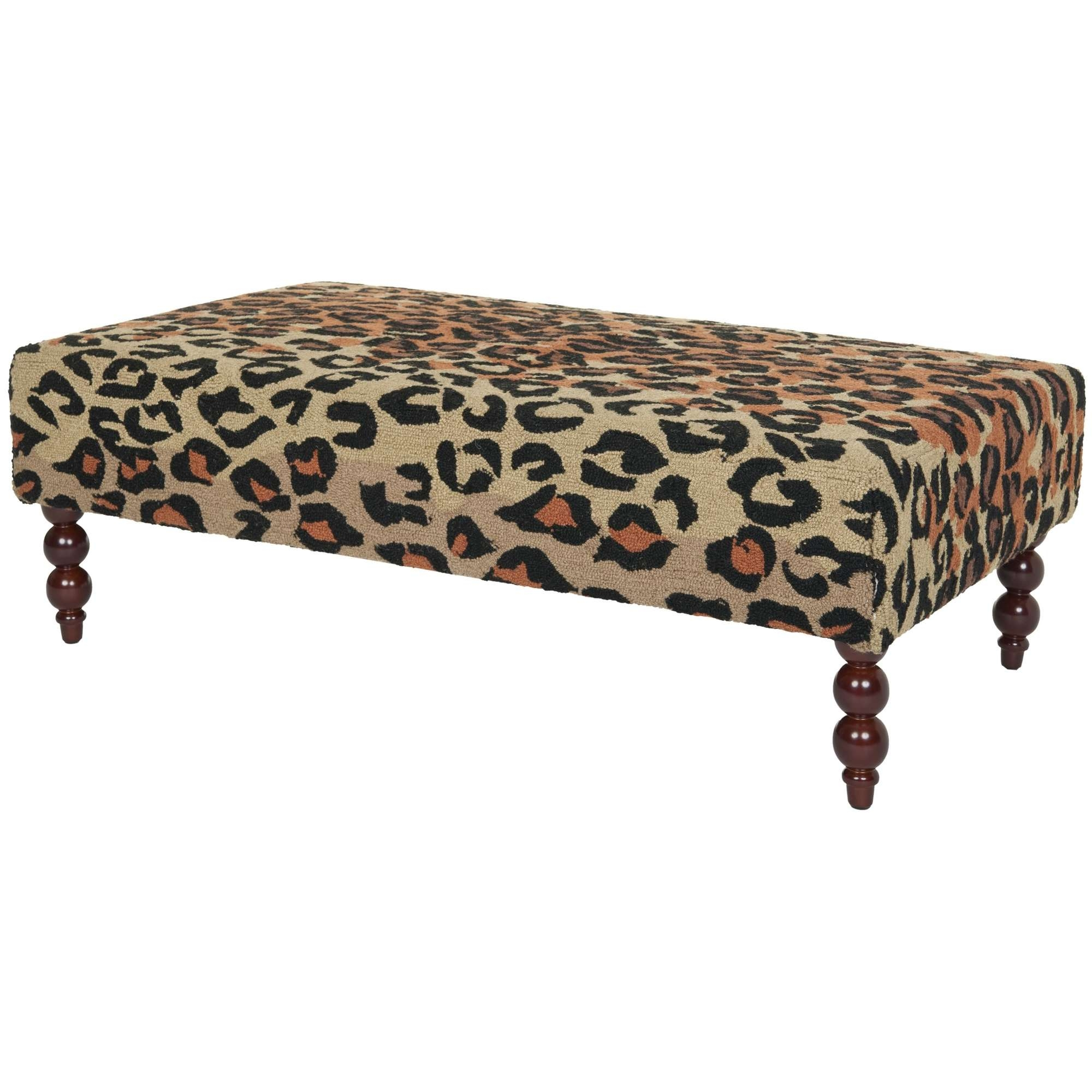 20 The Best Leopard Ottoman Coffee Tables