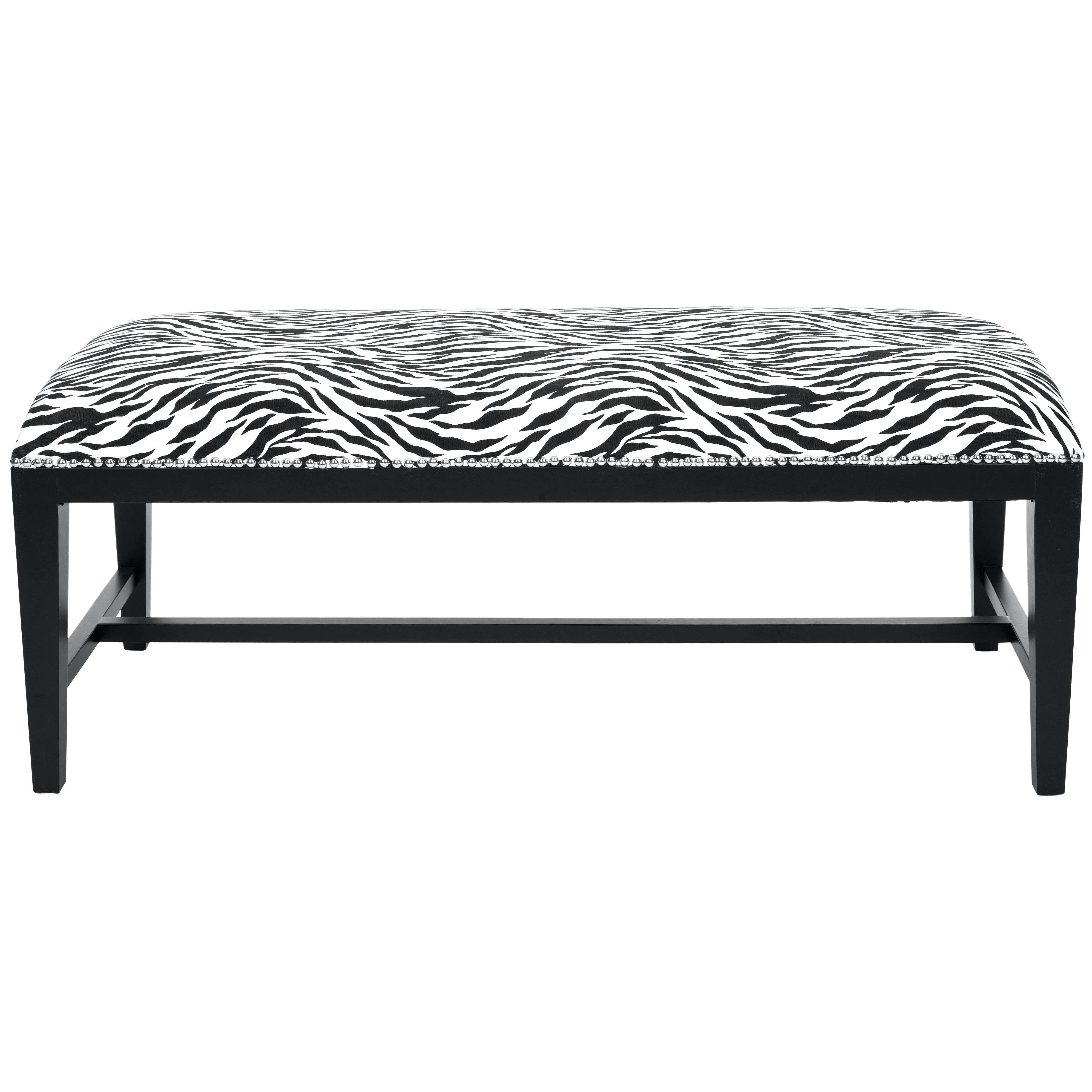 Leopard Print Bench – Nurani Intended For Well Liked Leopard Ottoman Coffee Tables (View 14 of 20)
