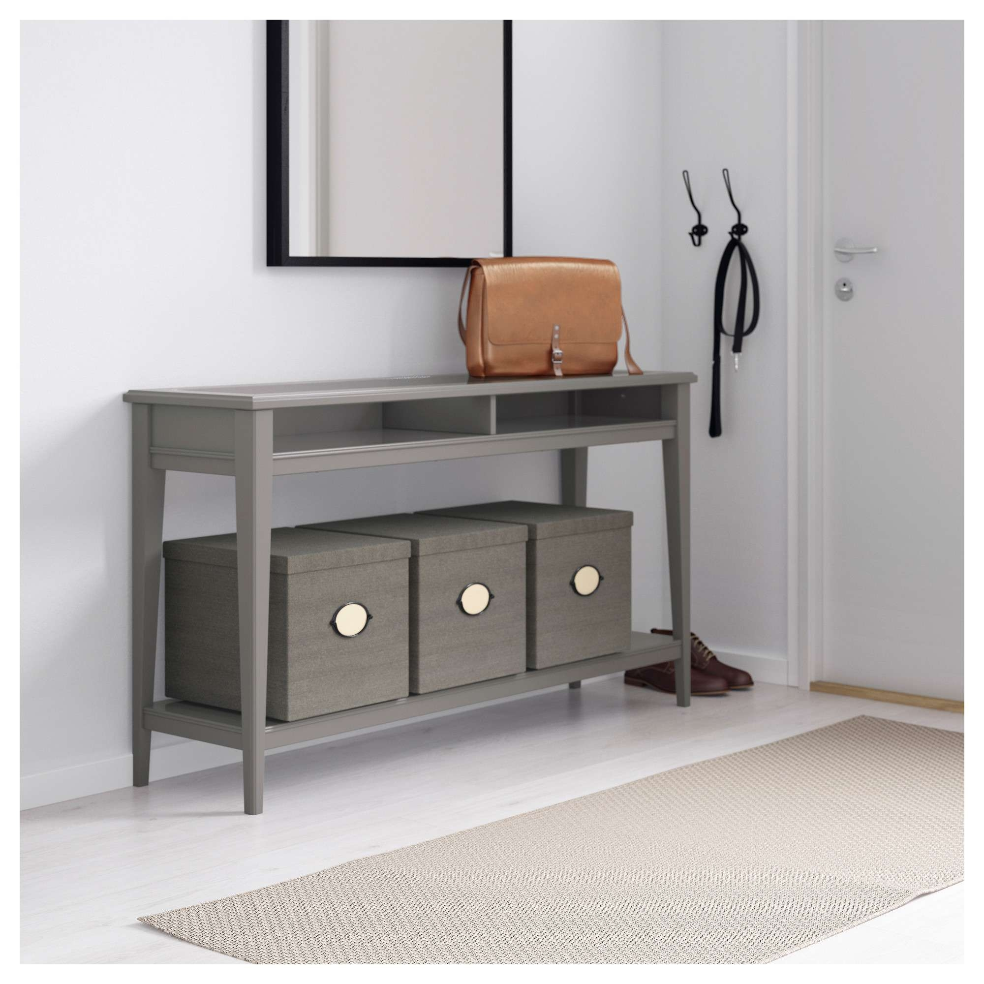 Liatorp Console Table – White/glass – Ikea With Liatorp Sideboards (View 9 of 20)