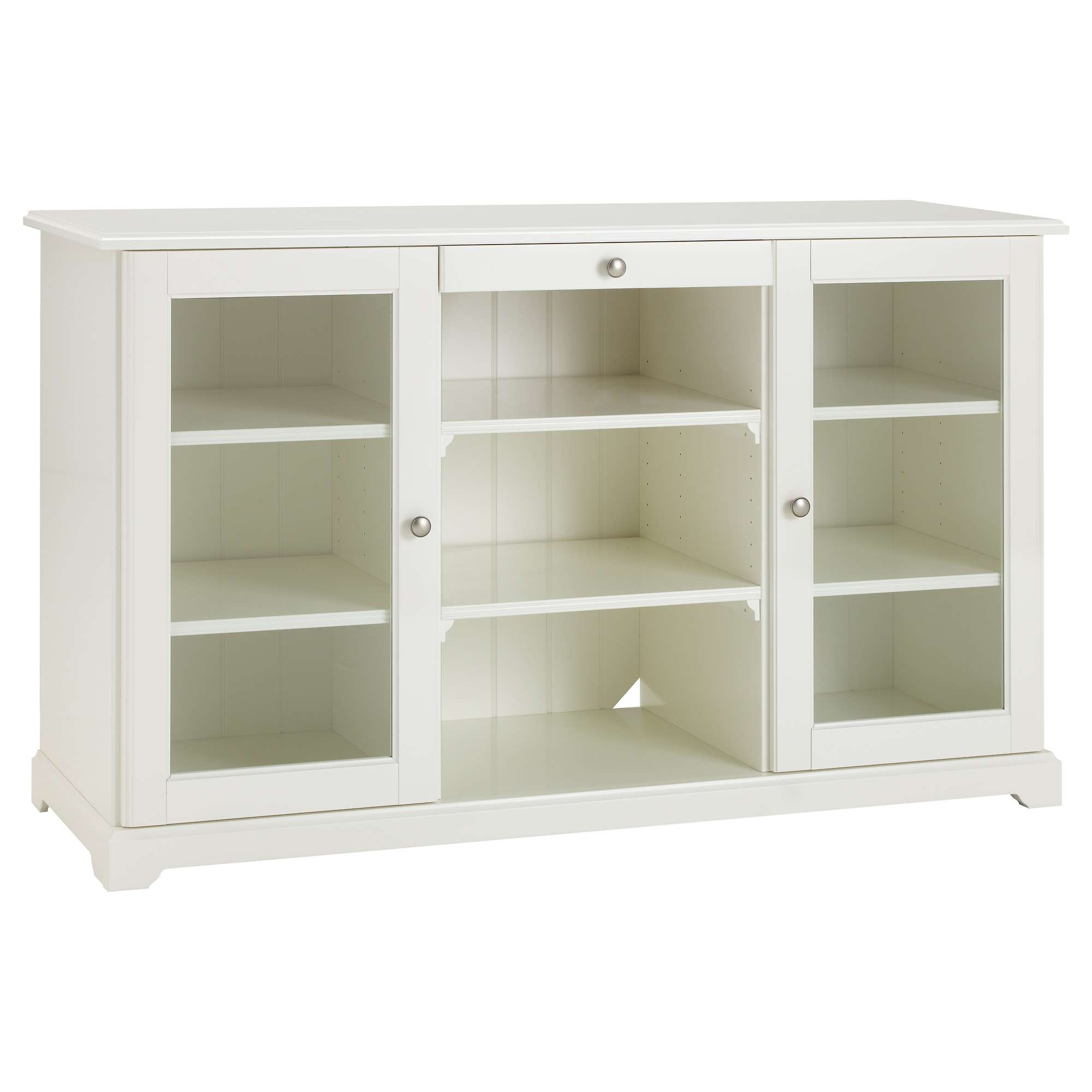 Liatorp Sideboard – White – Ikea In White Sideboards With Glass Doors (View 3 of 20)