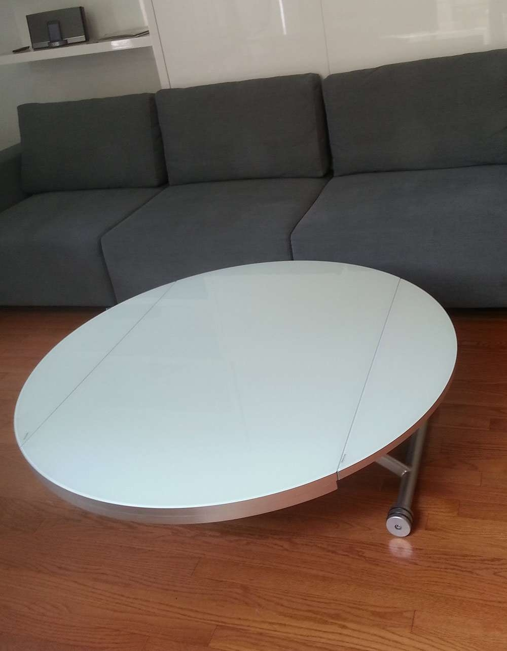 Lifting Round Coffee Dining Table (View 11 of 20)
