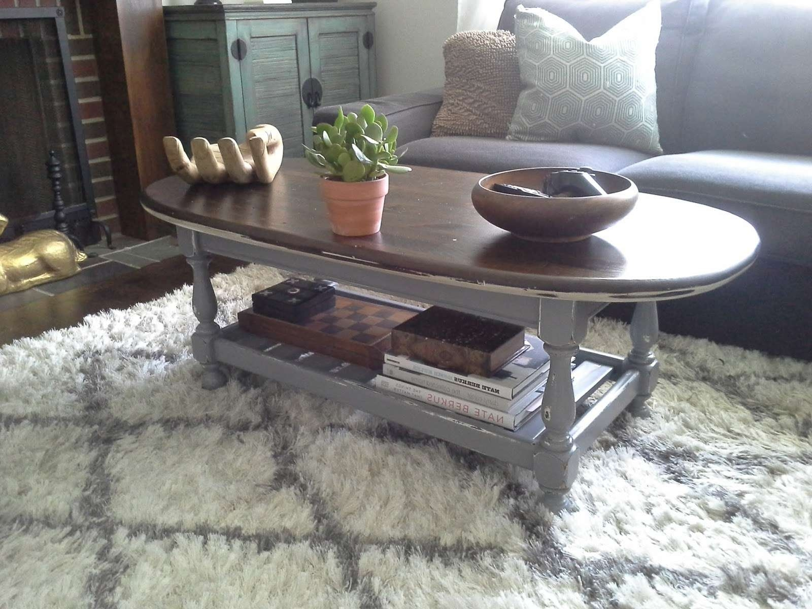 Lilly's Home Designs: Ethan Allen Coffee Table Redesign Throughout Best And Newest Jacobean Coffee Tables (View 10 of 20)