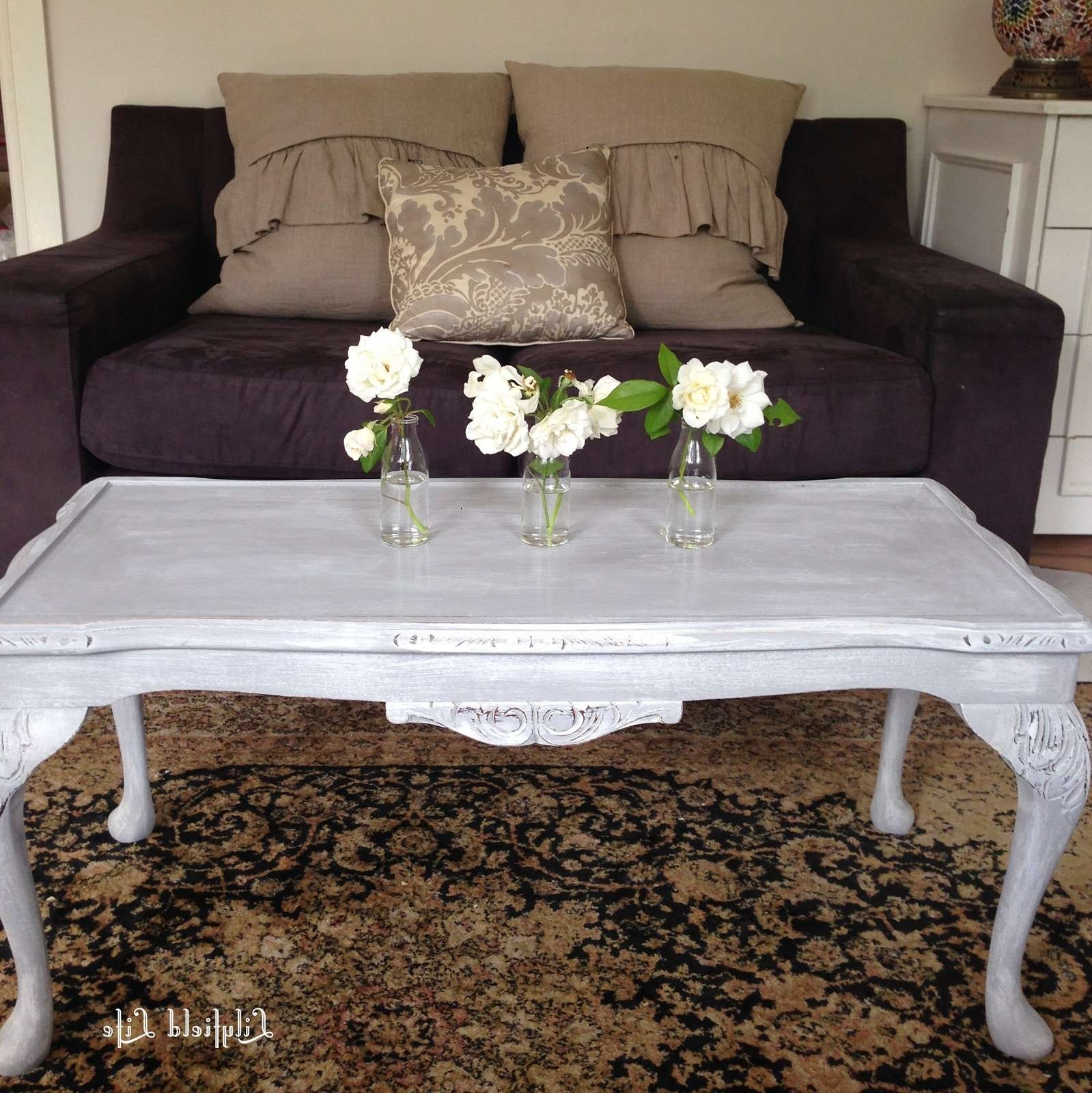 Lilyfield Life: Get The Look: Dry Brush French Style Coffee Table Throughout Trendy French Style Coffee Tables (View 12 of 20)