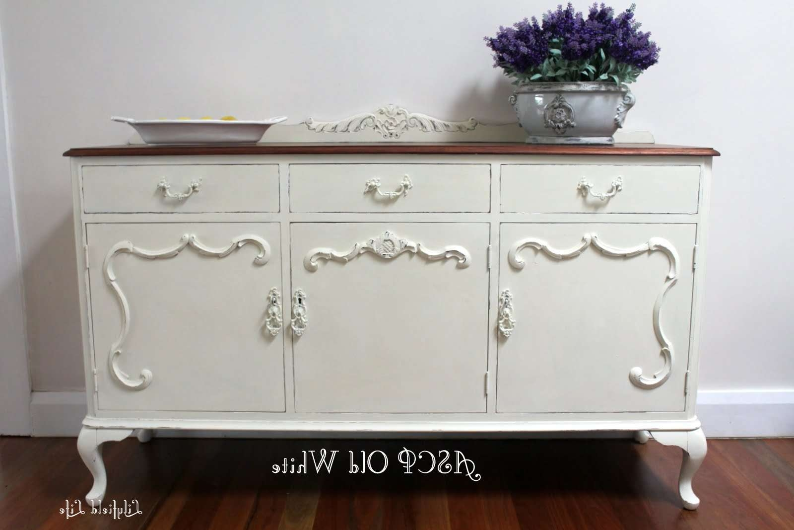 Lilyfield Life: Mix Tint Colour Annie Sloan Chalk Paint With Chalk Painted Sideboards (View 13 of 20)