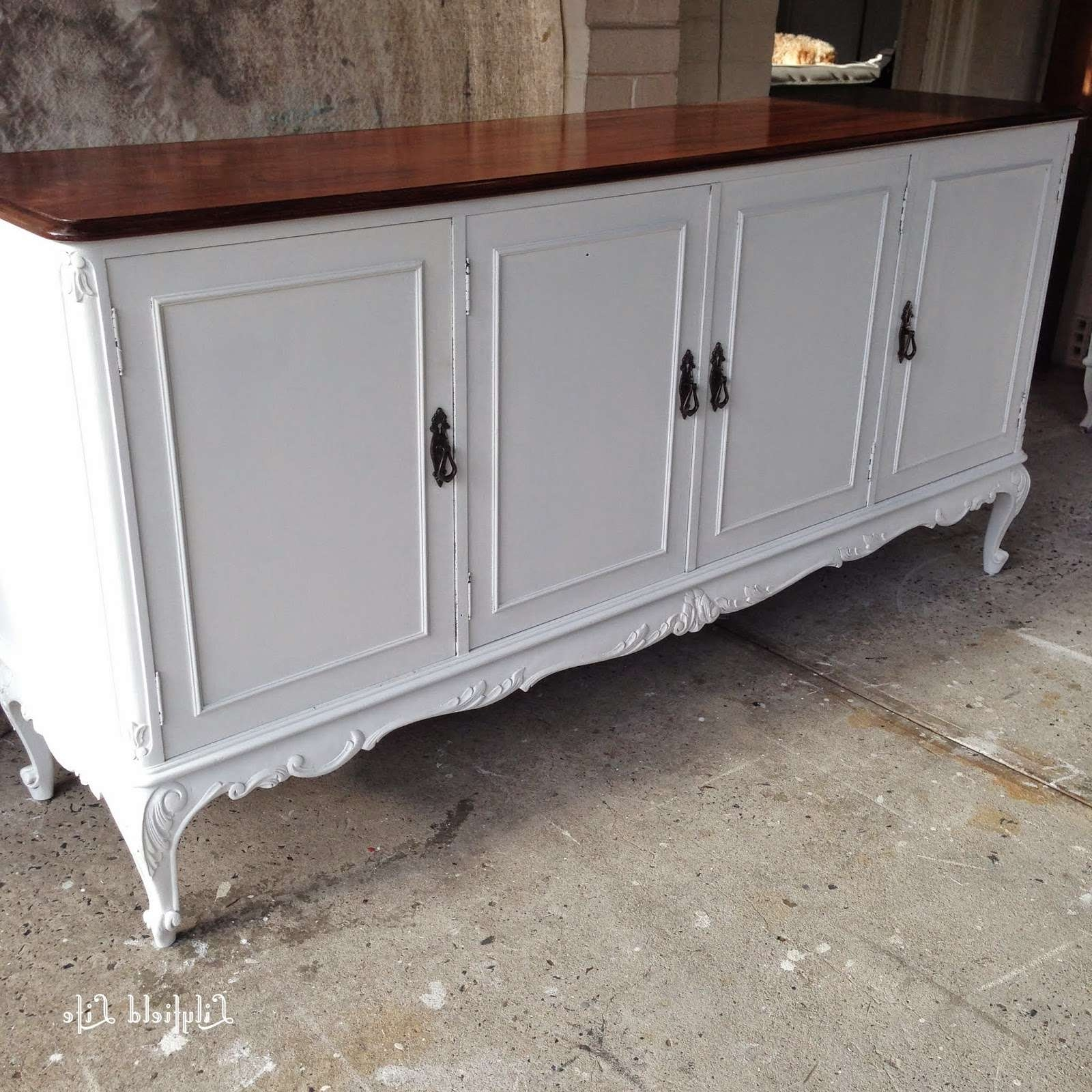 Lilyfield Life: Painted Sideboards A Plenty In French Sideboards (View 3 of 20)