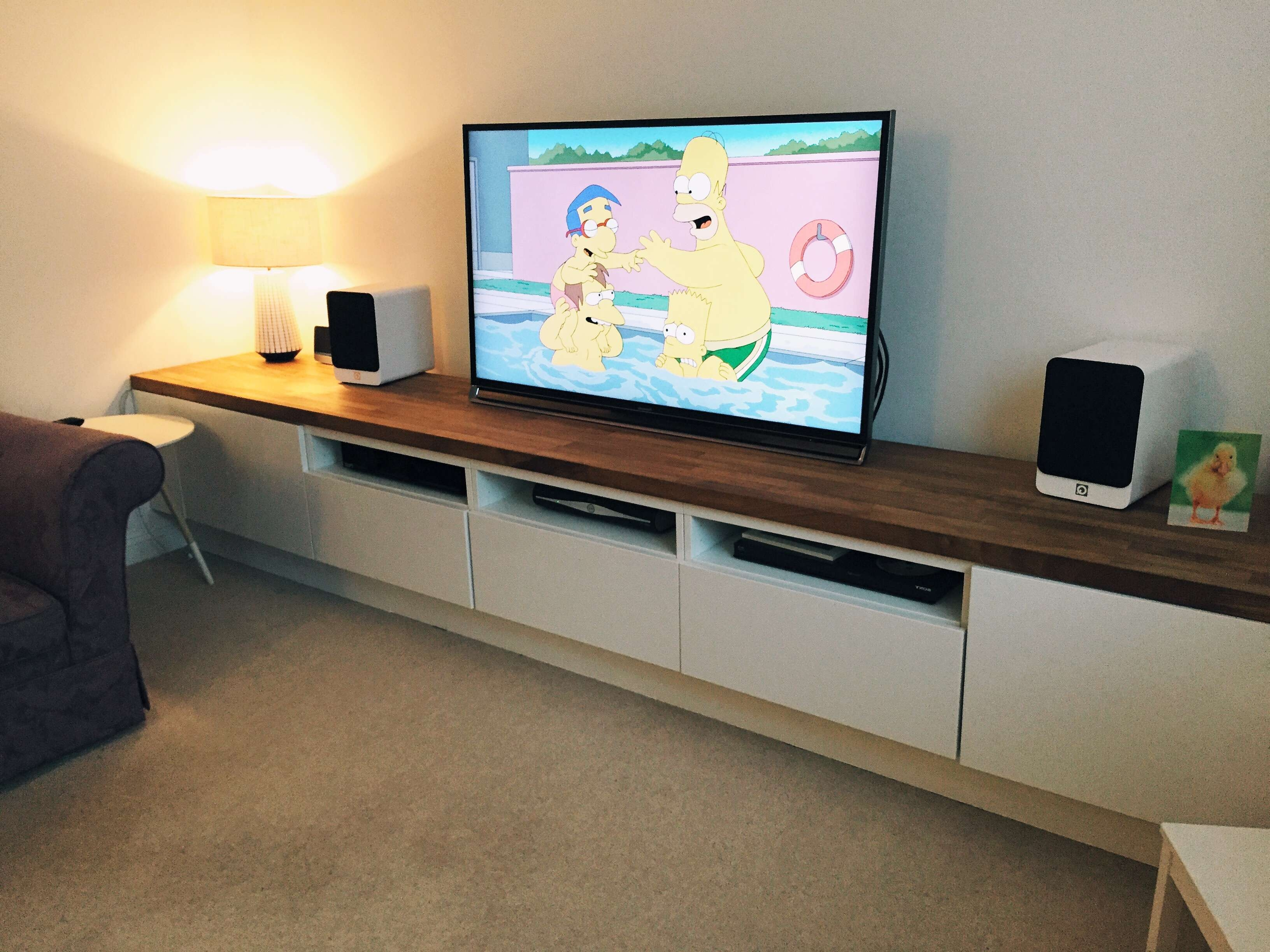 Literarywondrous Long Tv Stand Photos Ideas Cabinets Top Best On Pertaining To Ikea Built In Tv Cabinets (View 14 of 20)