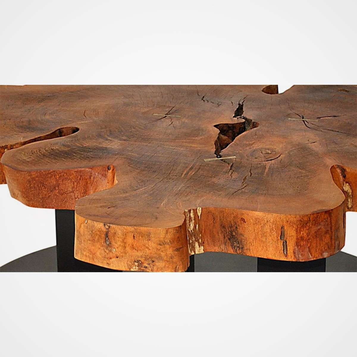 Live Edge Free Form Coffee Table 008 – Rotsen Furniture Within Well Liked Free Form Coffee Tables (View 11 of 20)