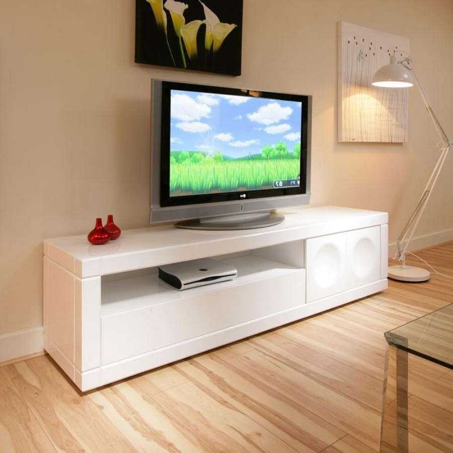Living ~ Brilliant Living Room Tv Unit Latest Design Images Hd Within Long White Tv Cabinets (View 7 of 20)