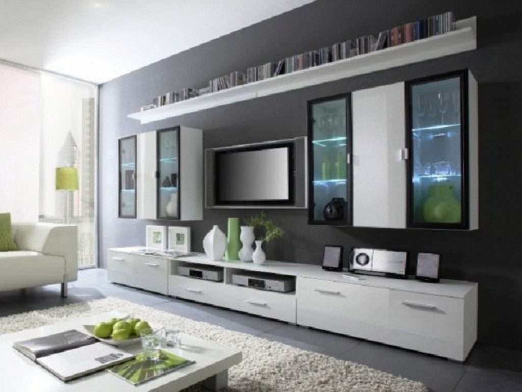 Living ~ Entertainment Center For Wall Mounted Flat Screen Tv Tv Inside Stylish Tv Cabinets (View 16 of 20)