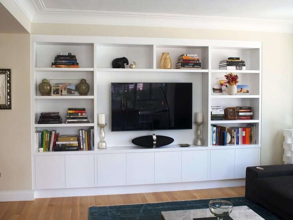 Living ~ Floating Tv Shelf Ikea Tv Unit Design Design For Living Throughout Ikea Built In Tv Cabinets (View 5 of 20)