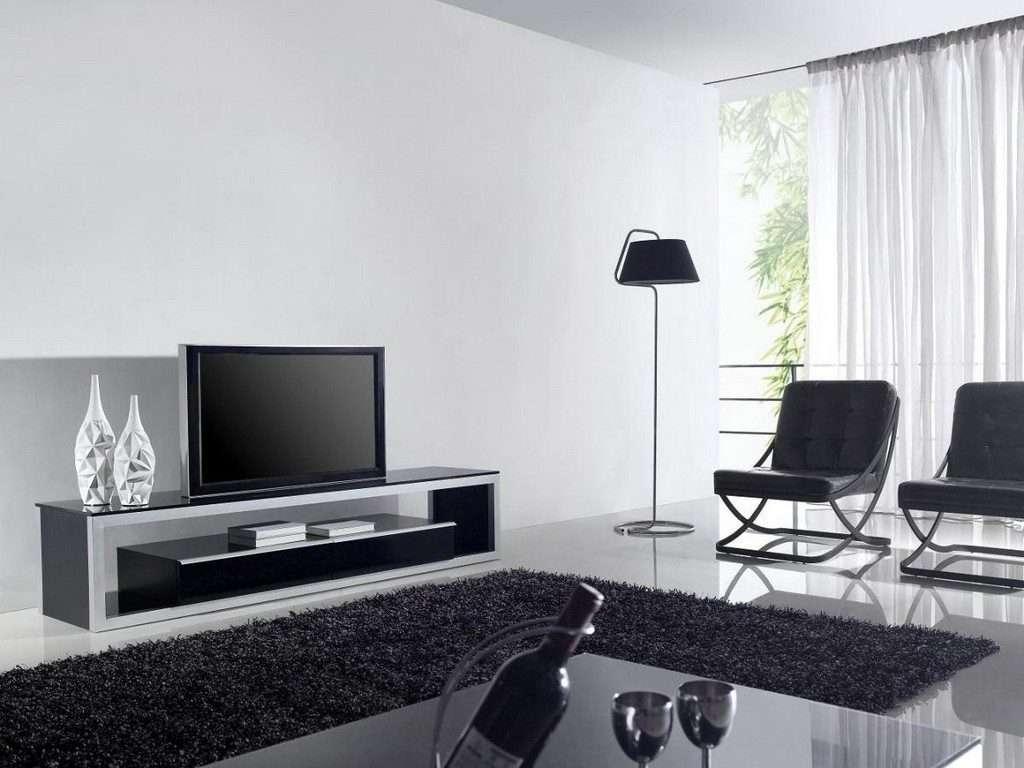 Living ~ Led Tv Cabinet Designs Long White Tv Unit Tv Console In Long White Tv Cabinets (View 13 of 20)