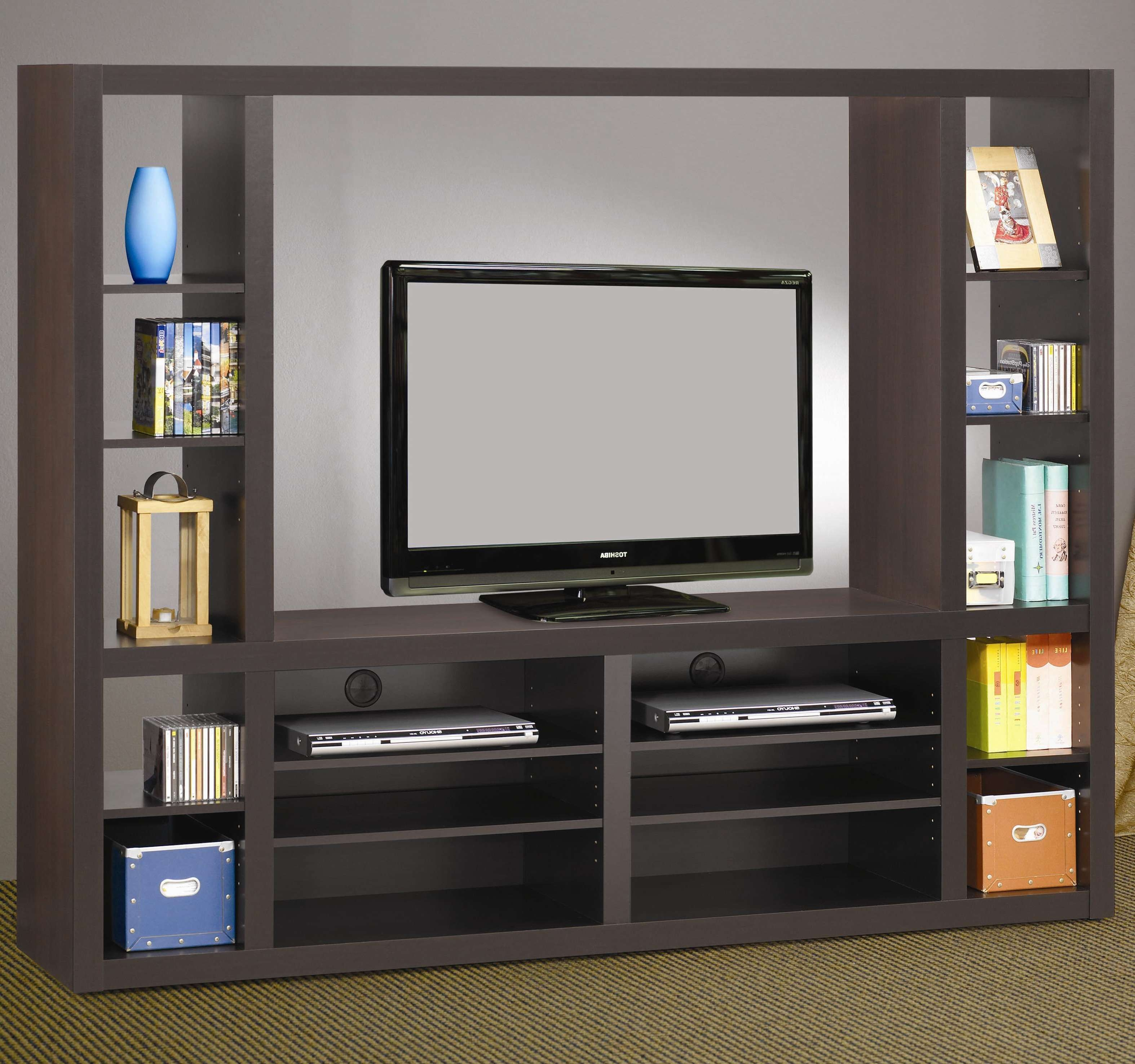 Living Room : Awesome Grey Wood Modern Design Elegant Wall Units With Regard To Wall Display Units And Tv Cabinets (View 8 of 20)