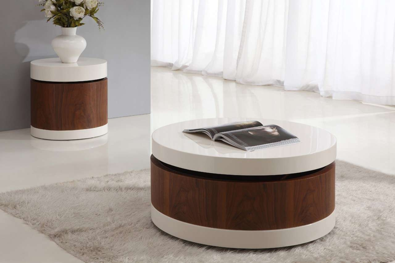 Living Room Contemporary Coffee Table – Matt And Jentry Home Design Intended For Current Contemporary Round Coffee Tables (View 7 of 20)