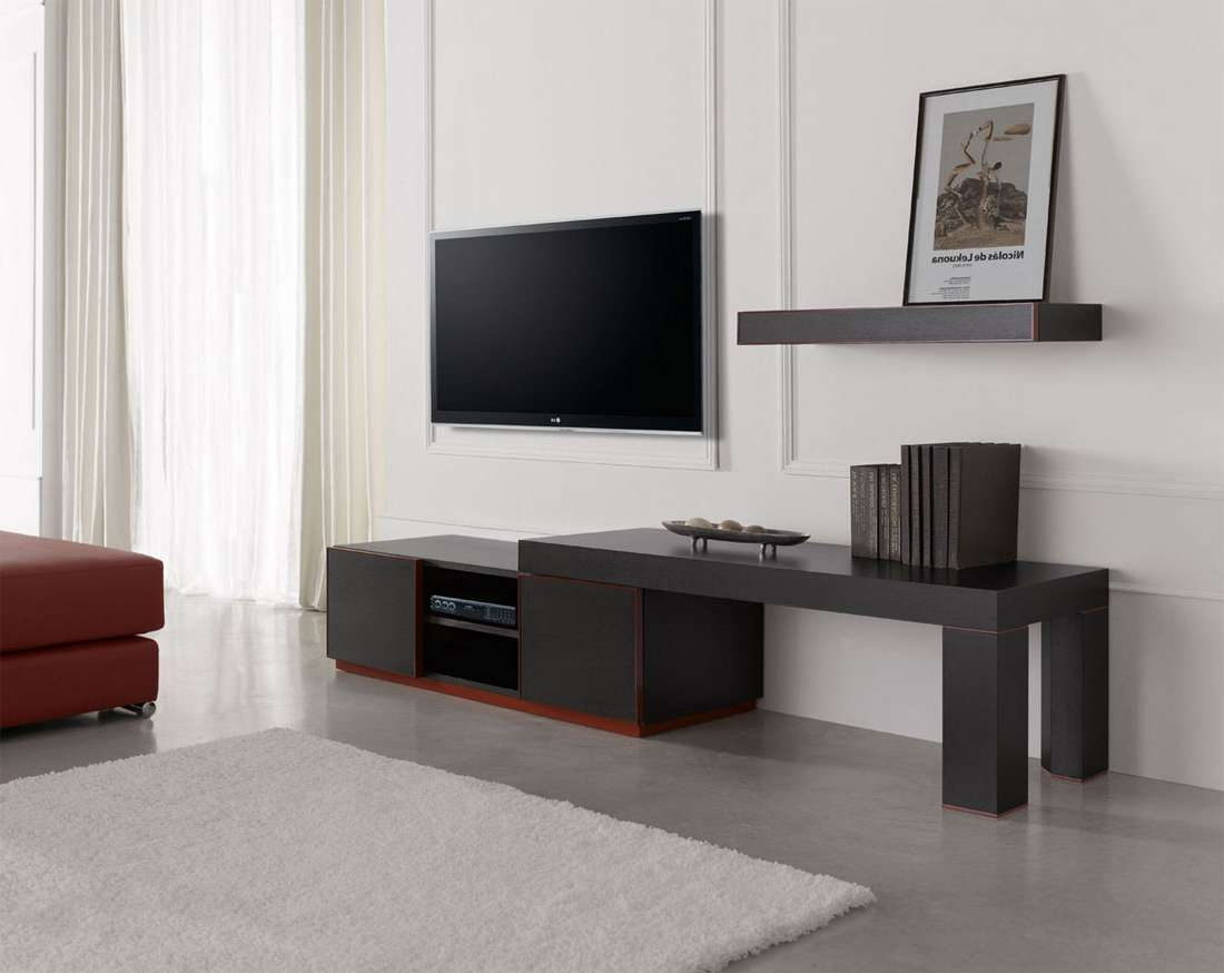 Living Room : Contemporary Tv Stand Design Ideas For Living Room With Modern Tv Cabinets For Flat Screens (View 12 of 20)