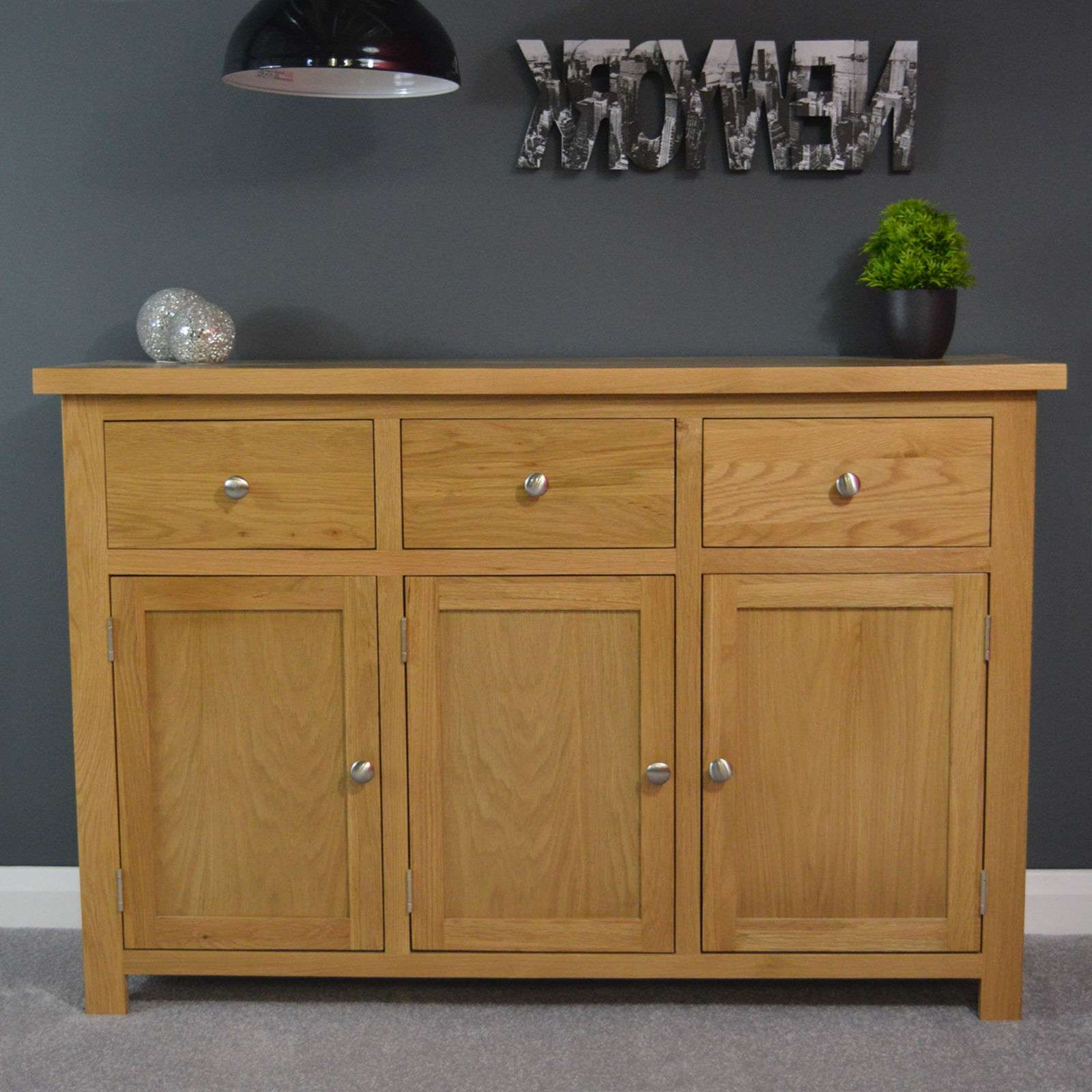 Living Room Sideboards And Buffets | Ebay Within Real Wood Sideboards (View 10 of 20)
