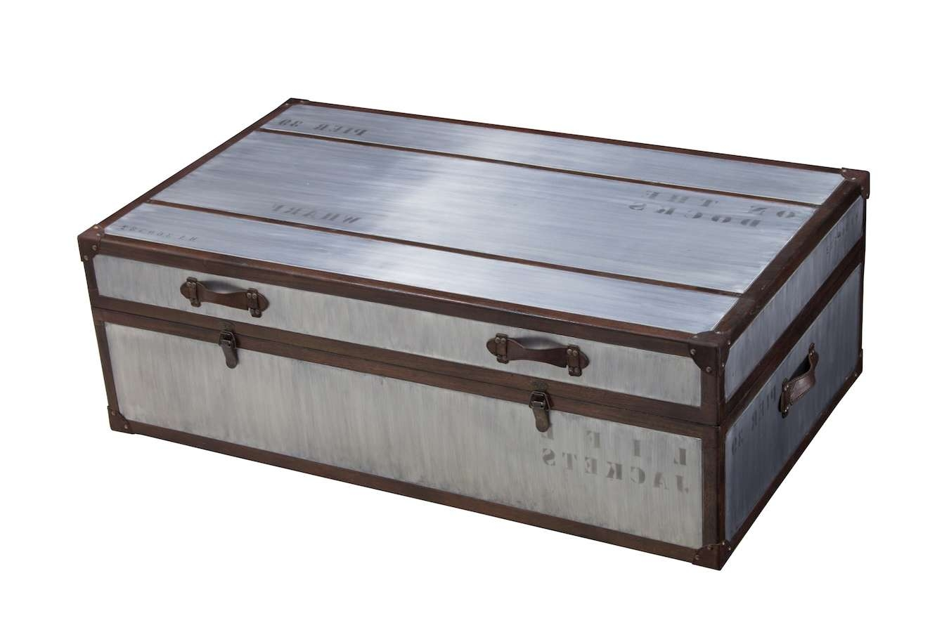 Living Room : Storage Trunk Coffee Table Small Coffee Tables In Popular Trunk Chest Coffee Tables (View 10 of 20)