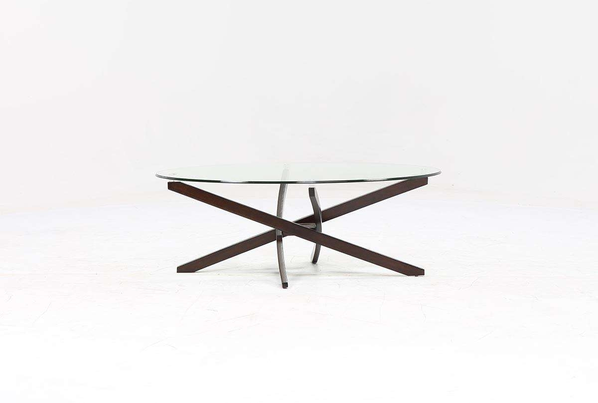 Living Spaces For Famous Black Oval Coffee Table (View 15 of 20)