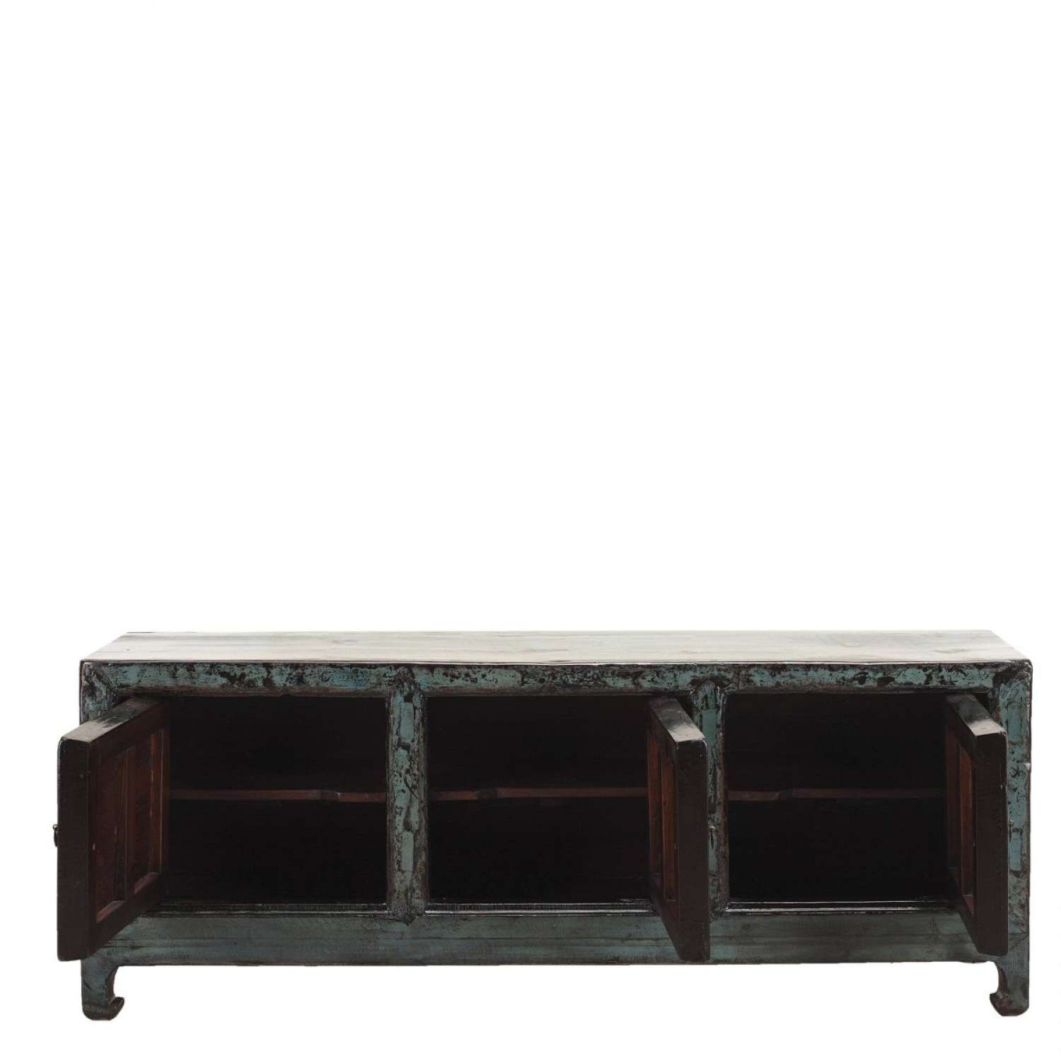 Long Low Cabinet | Oriental Low Sideboard | Orchid Pertaining To Long Low Sideboards (View 7 of 20)