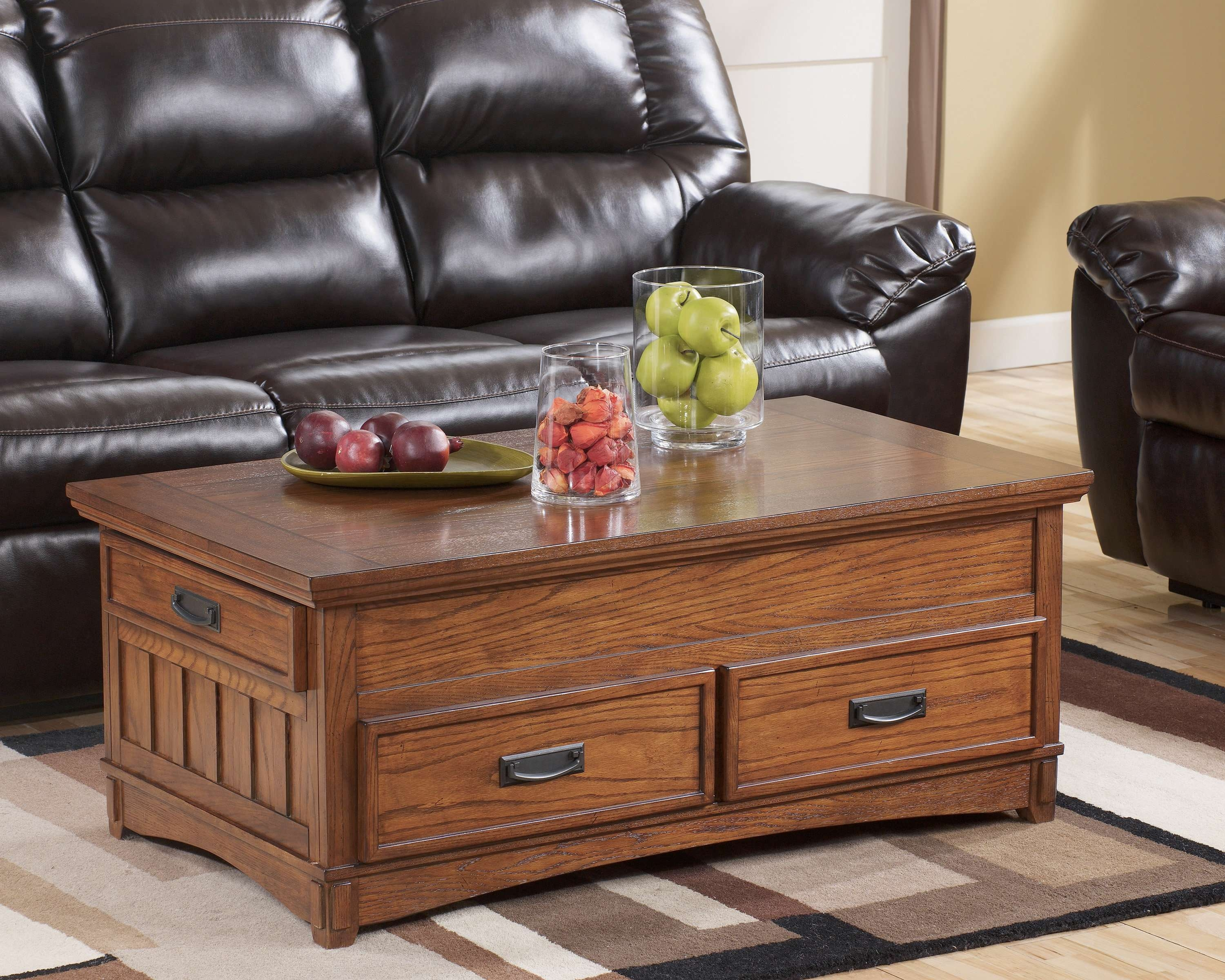 Loon Peak Barrett Trunk Coffee Table With Lift Top & Reviews (View 8 of 20)