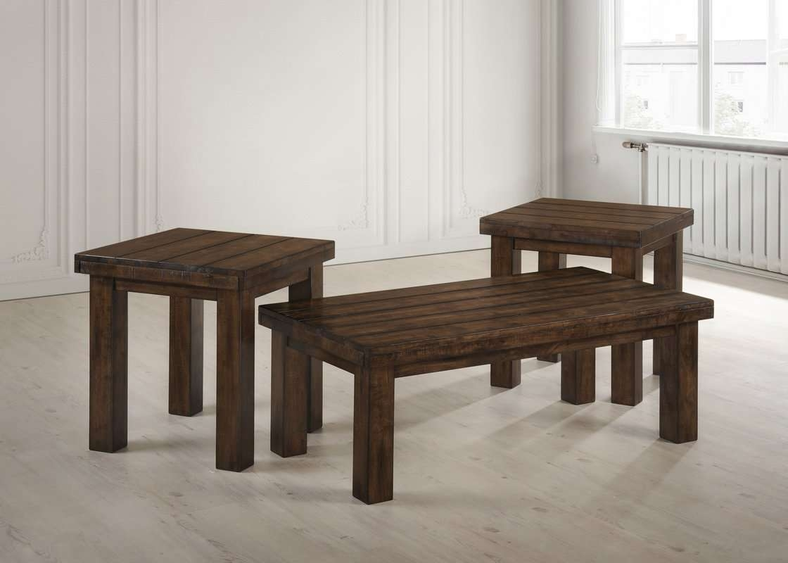 Loon Peak Moravian 2 Piece Coffee Table Setsimmons Casegoods Throughout Best And Newest 2 Piece Coffee Table Sets (View 9 of 20)