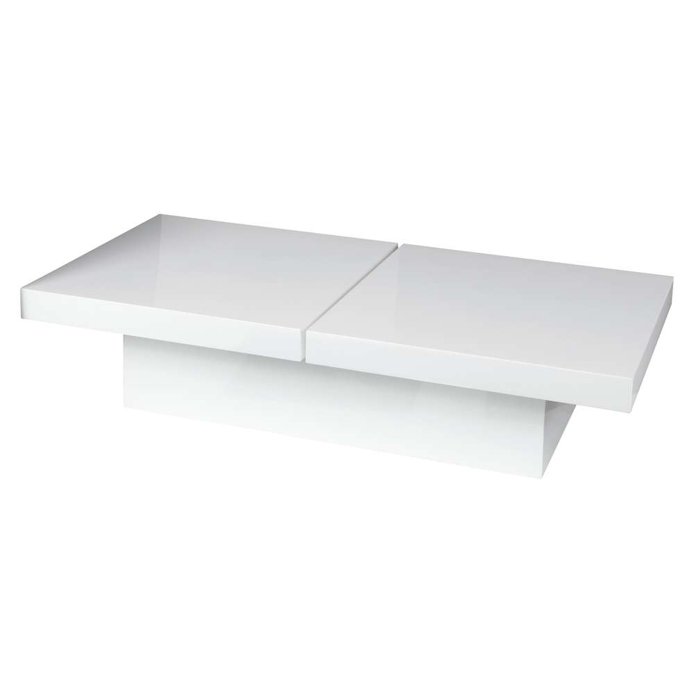 Lovely Modern White Coffee Table Idea – White Wood Coffee Tables Regarding Famous White Coffee Tables With Storage (View 11 of 20)