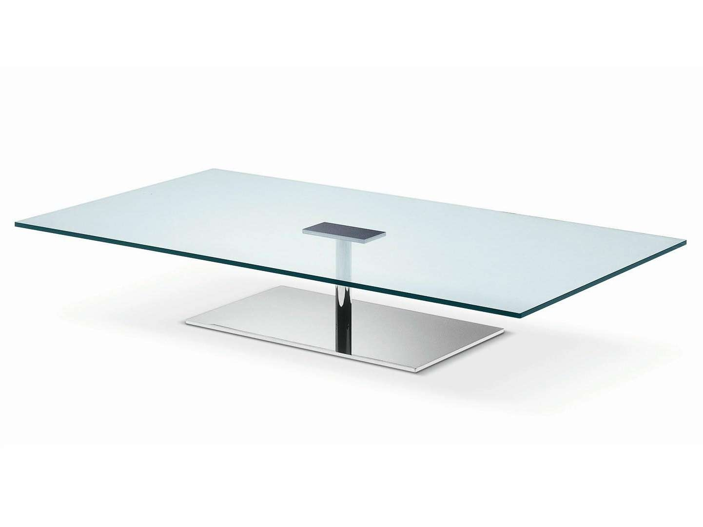 Low Glass Coffee Table (View 10 of 20)