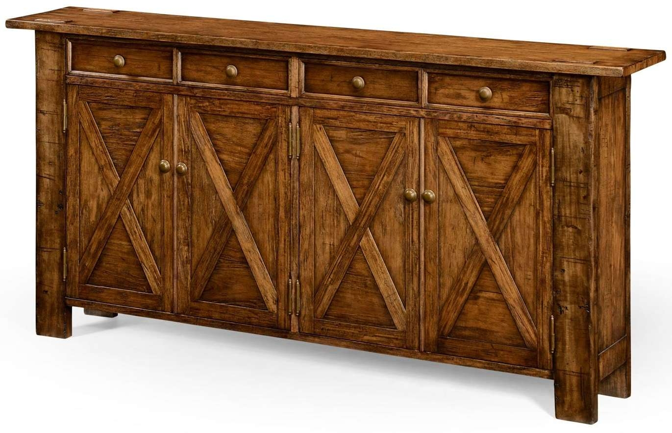 Low Sideboard Kitchen Sideboard Table Small Buffet Unit 48 Inch Intended For Sideboards Tables (View 11 of 20)