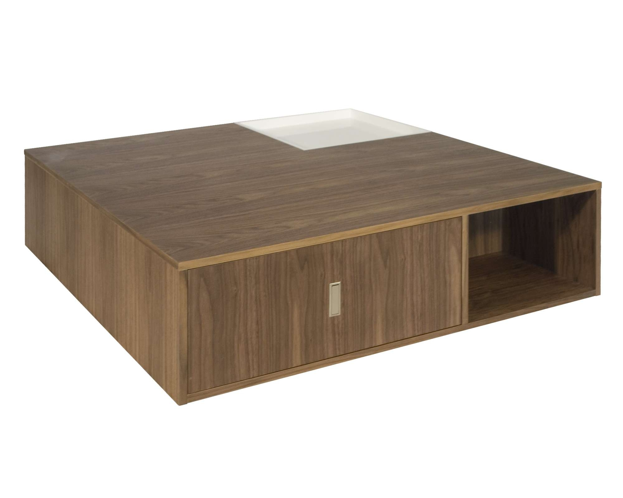 Low Square Coffee Table With Storage With Exotic Ascot Coffee With Most Popular Low Coffee Tables With Storage (View 8 of 20)