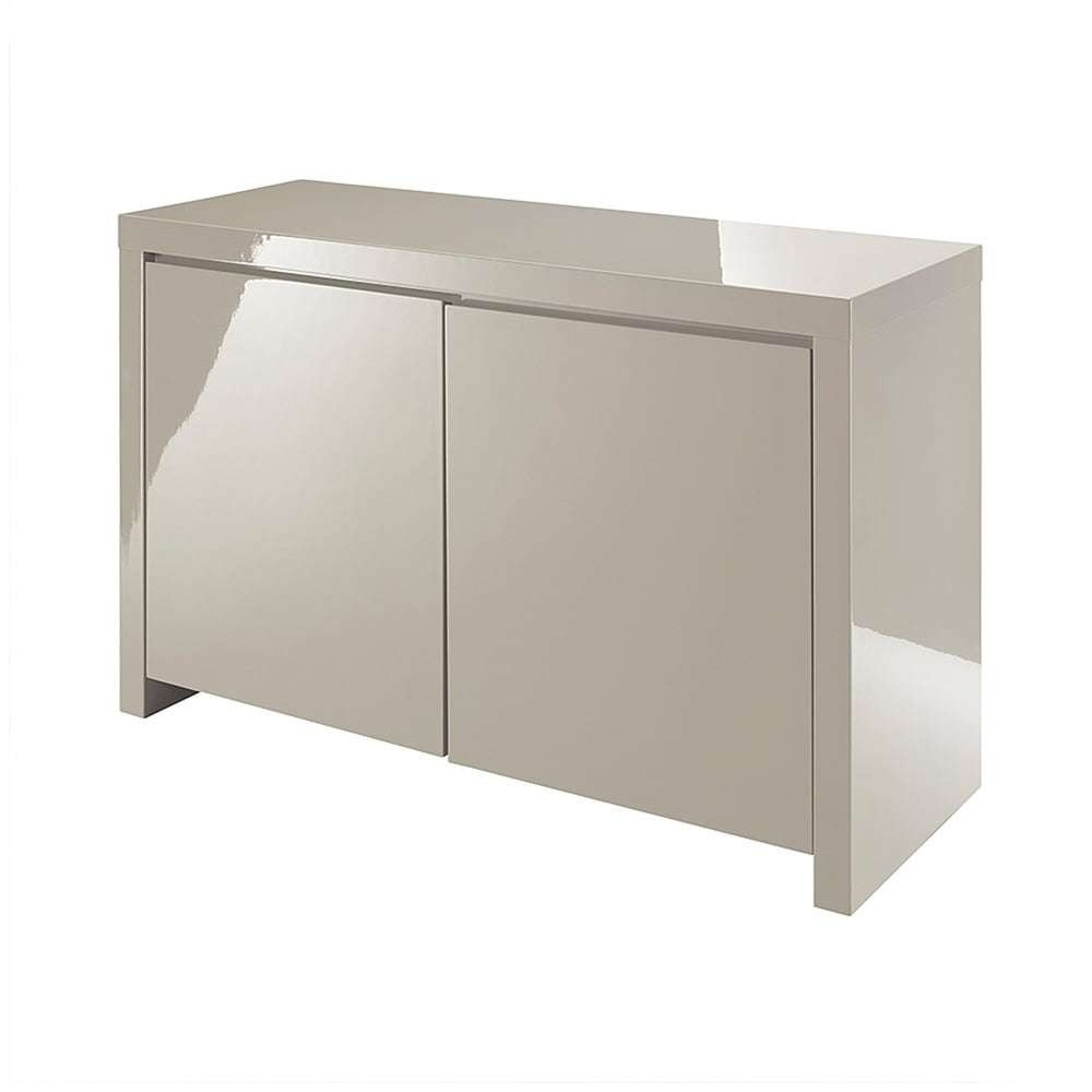 Lpd Furniture Puro Stone High Gloss Sideboard | Leader Stores Throughout Gloss Sideboards Furniture (View 6 of 20)